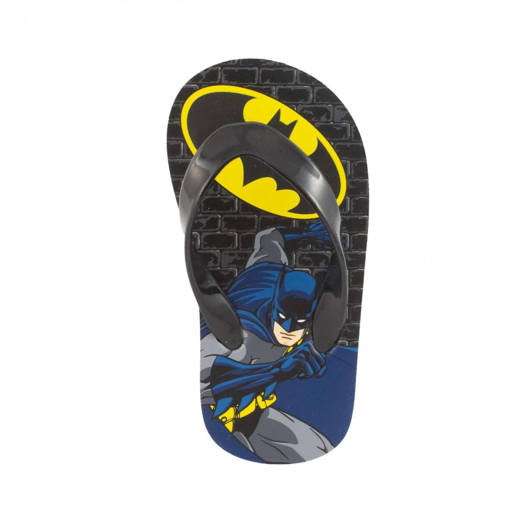 Batman Cartoon Kids Flip Flops