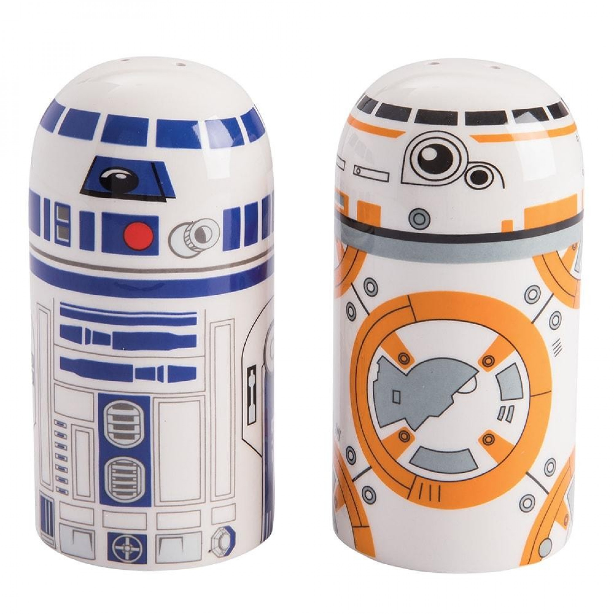 Star Wars BB-8 & R2-D2 Sculpted Salt & Pepper Set