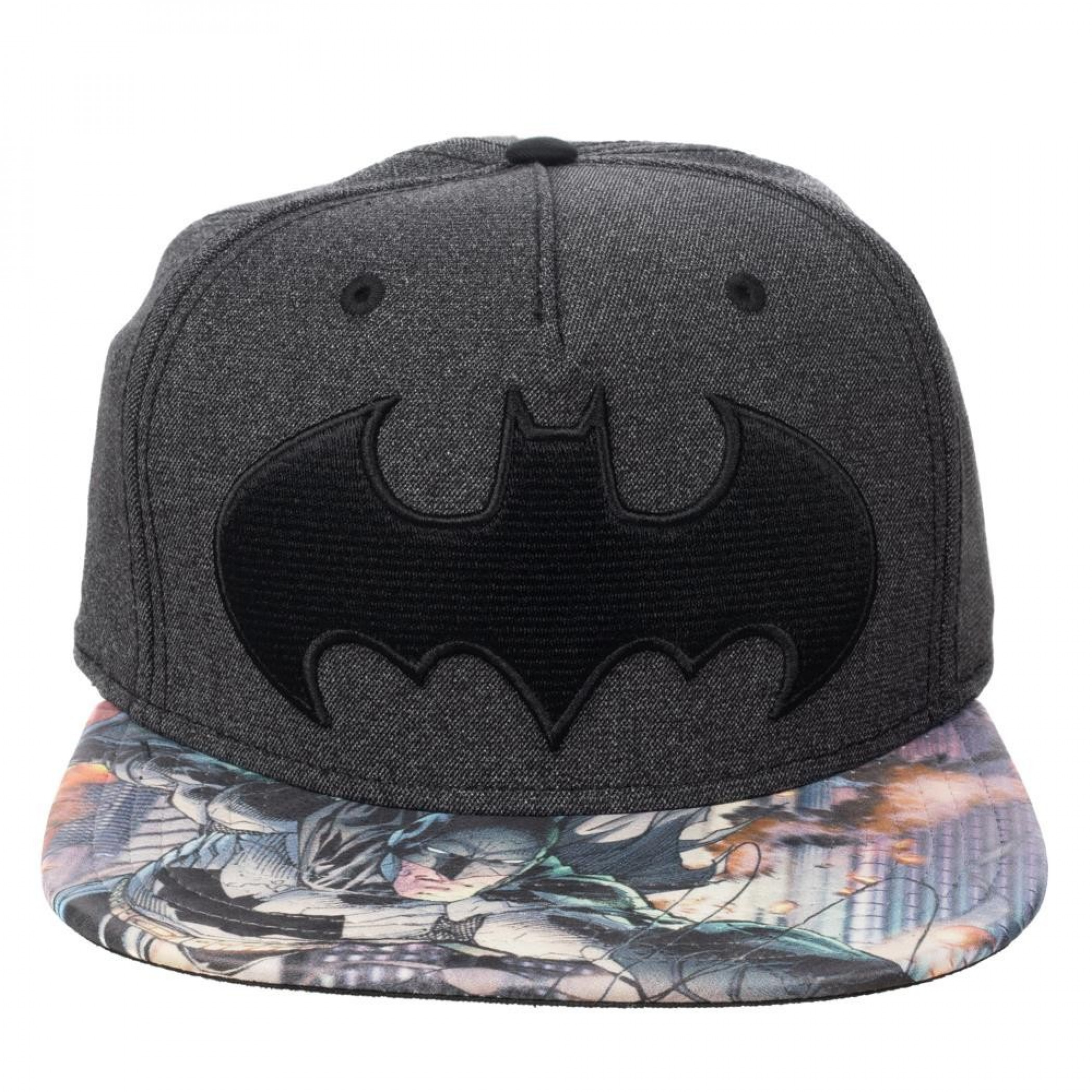 Batman Sublimated Bill Snapback Hat