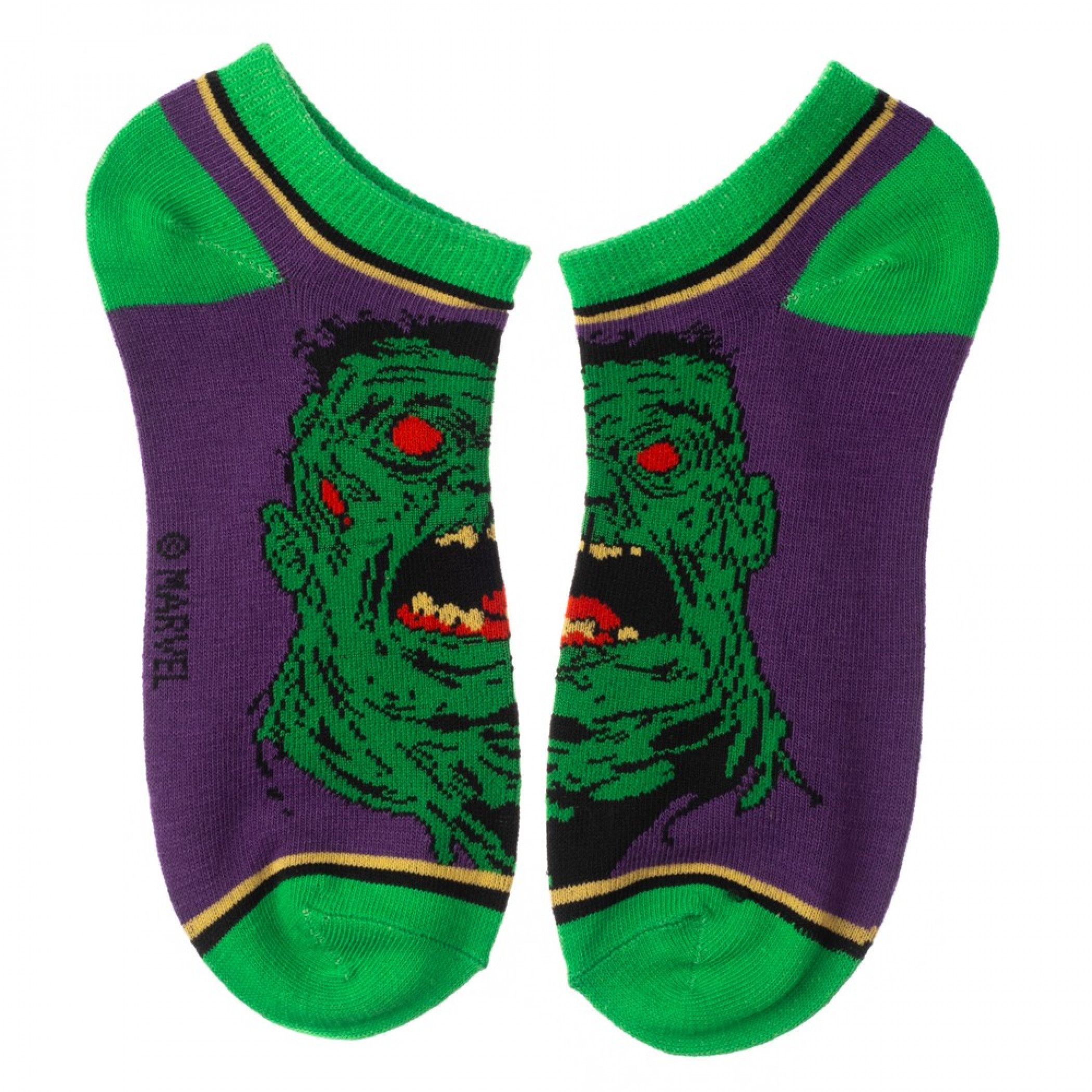 Marvel Zombie Comic Series 5-Pair Pack of Ankle Socks