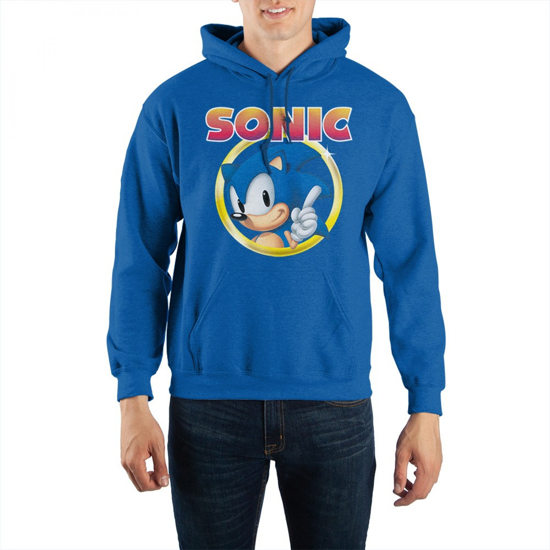 Sonic the Hedgehog Gold Ring Unisex Hoodie