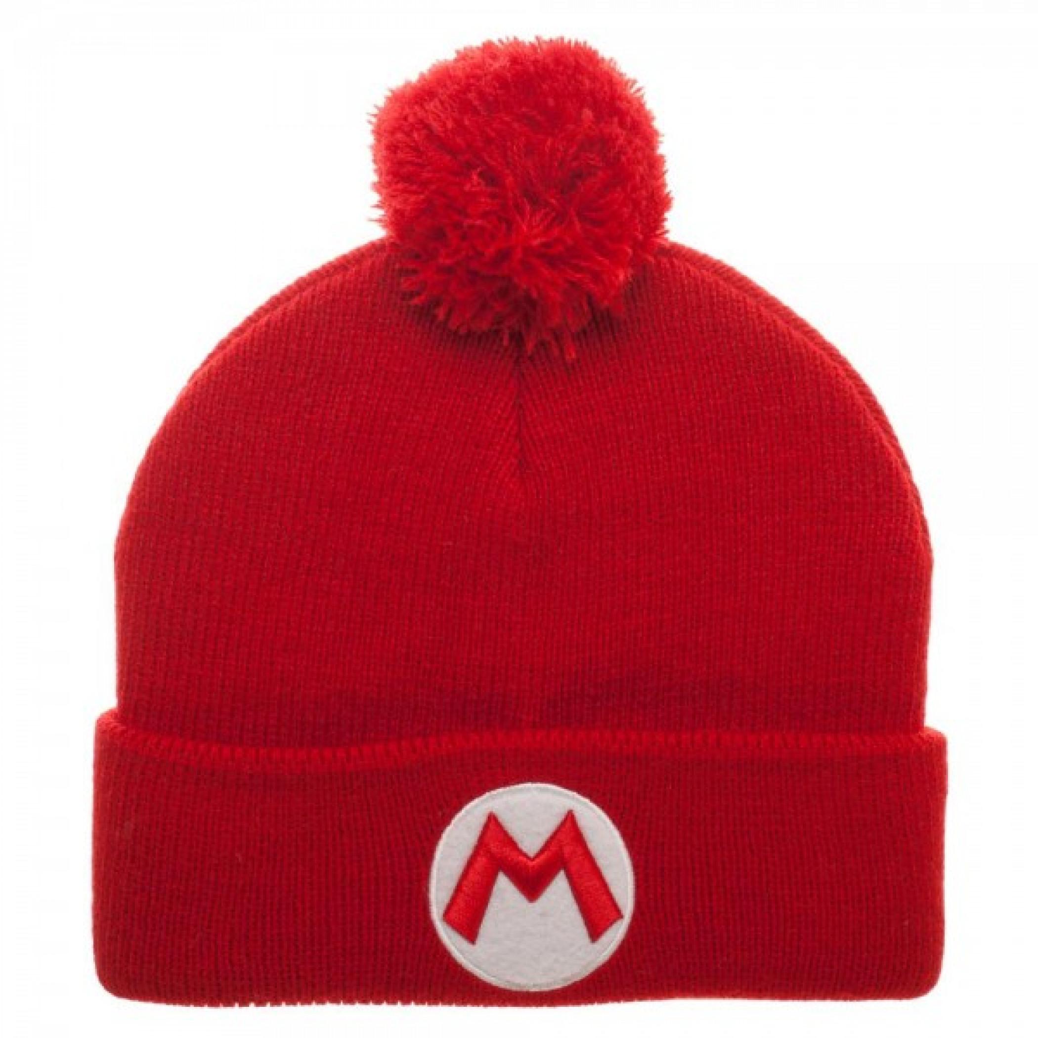 Nintendo Super Mario Bros. Winter Pom Beanie