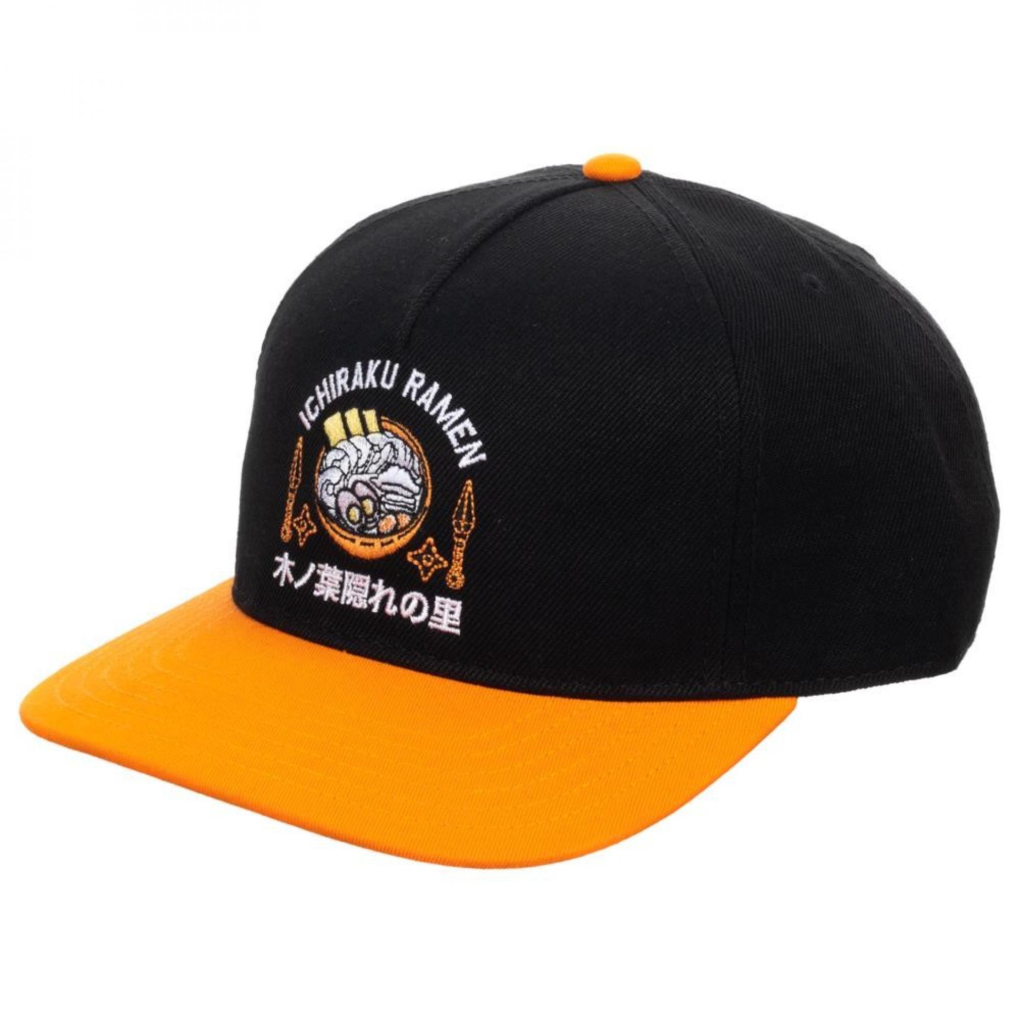Naruto Ramen Slouch Adjustable Snapback Hat