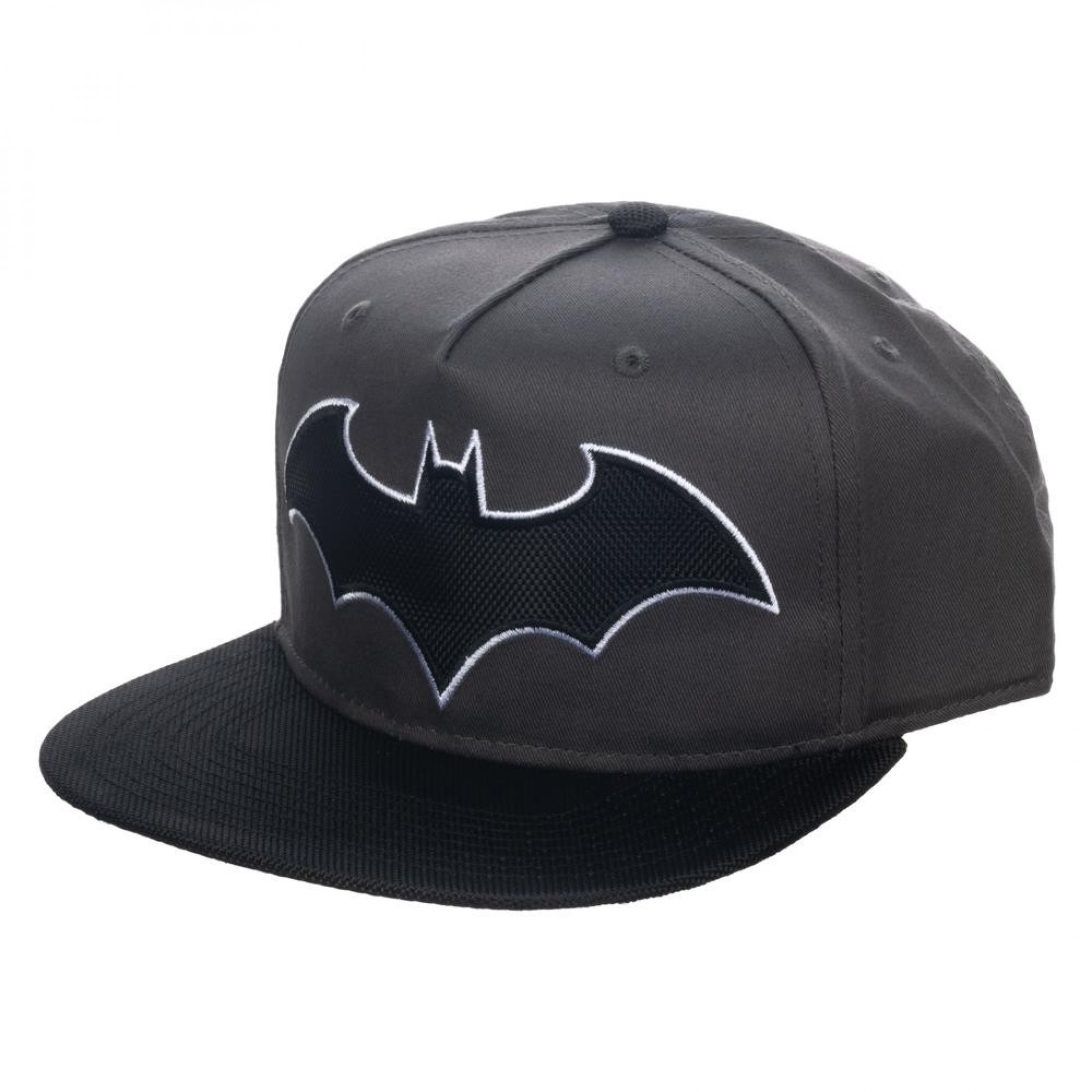 Batman Hush Symbol with Ballistic Brim Snapback Hat