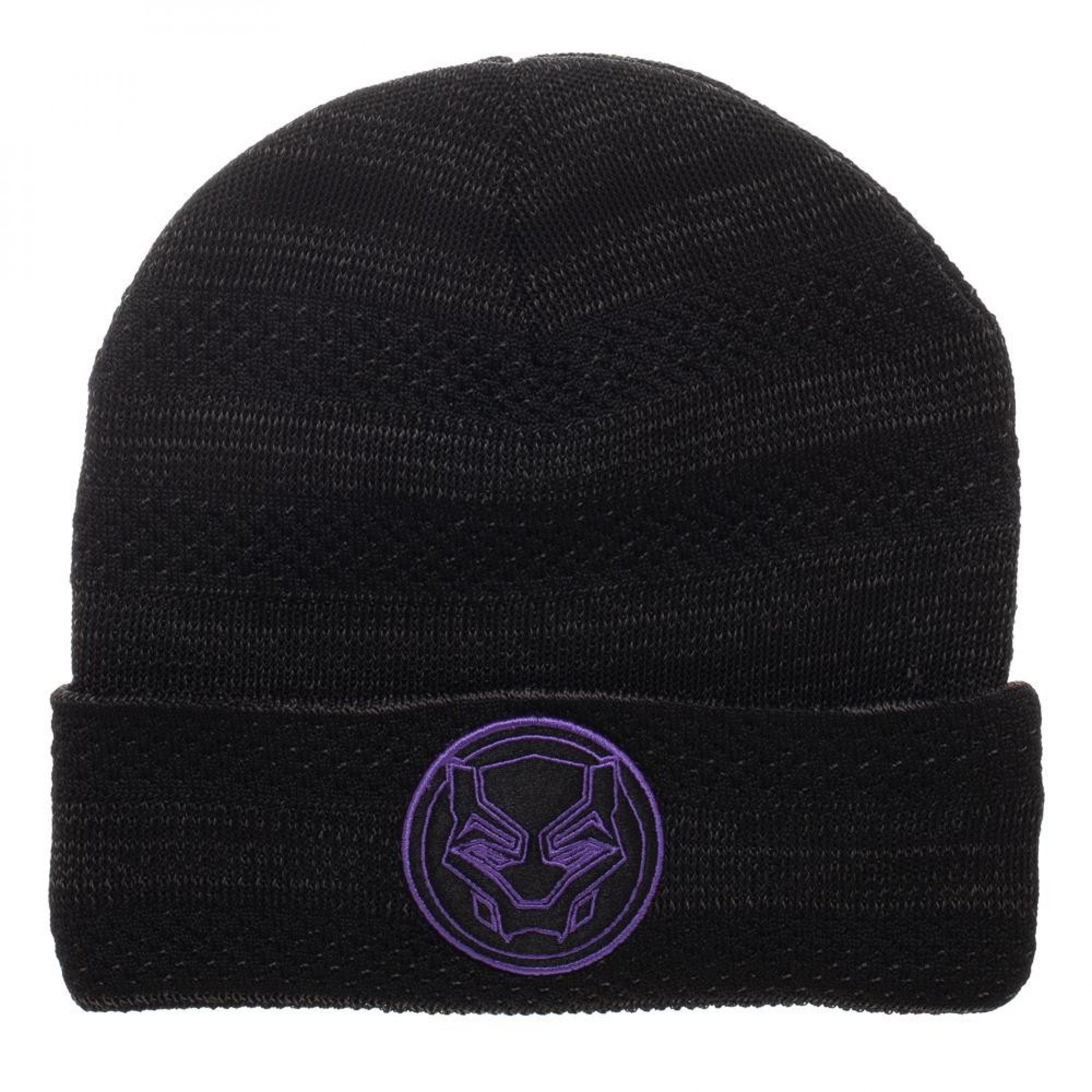 Black Panther Fly Knit Beanie