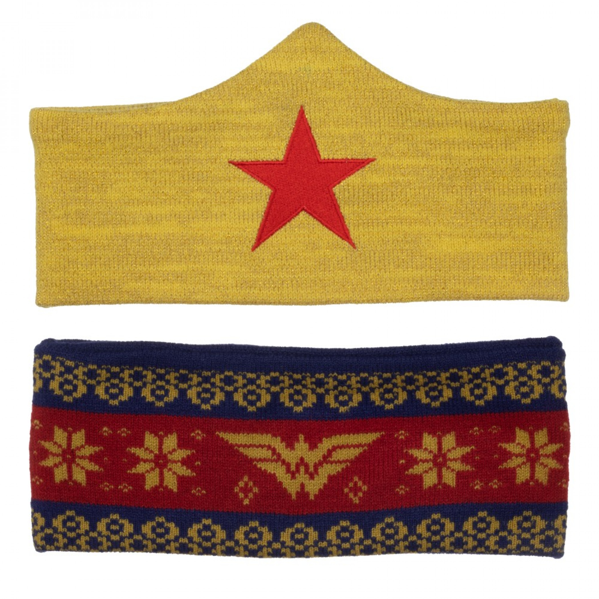 Wonder Woman Headbands Set of 2