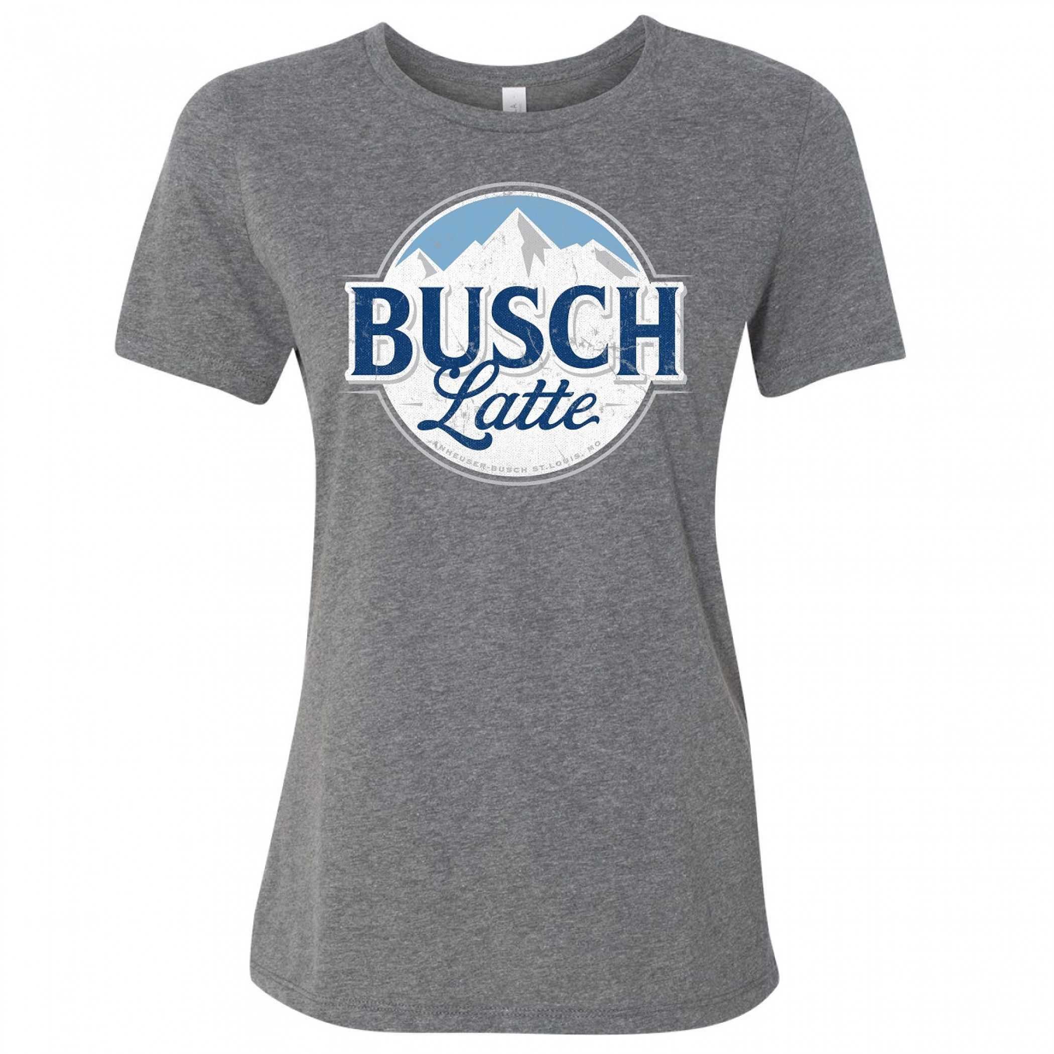 Busch Latte Mountain Logo Women's T-Shirt