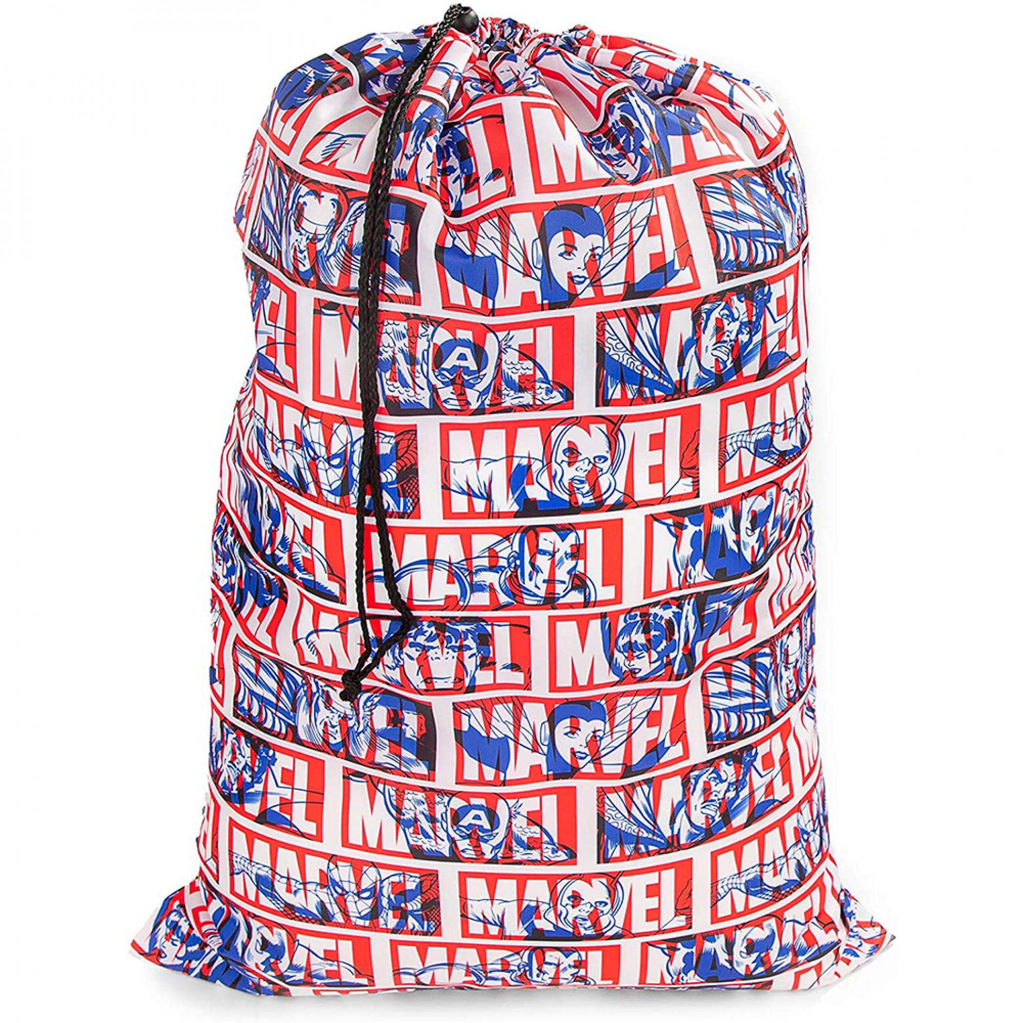 Marvel Comics Avengers Classic Represent Drawstring Laundry Bag