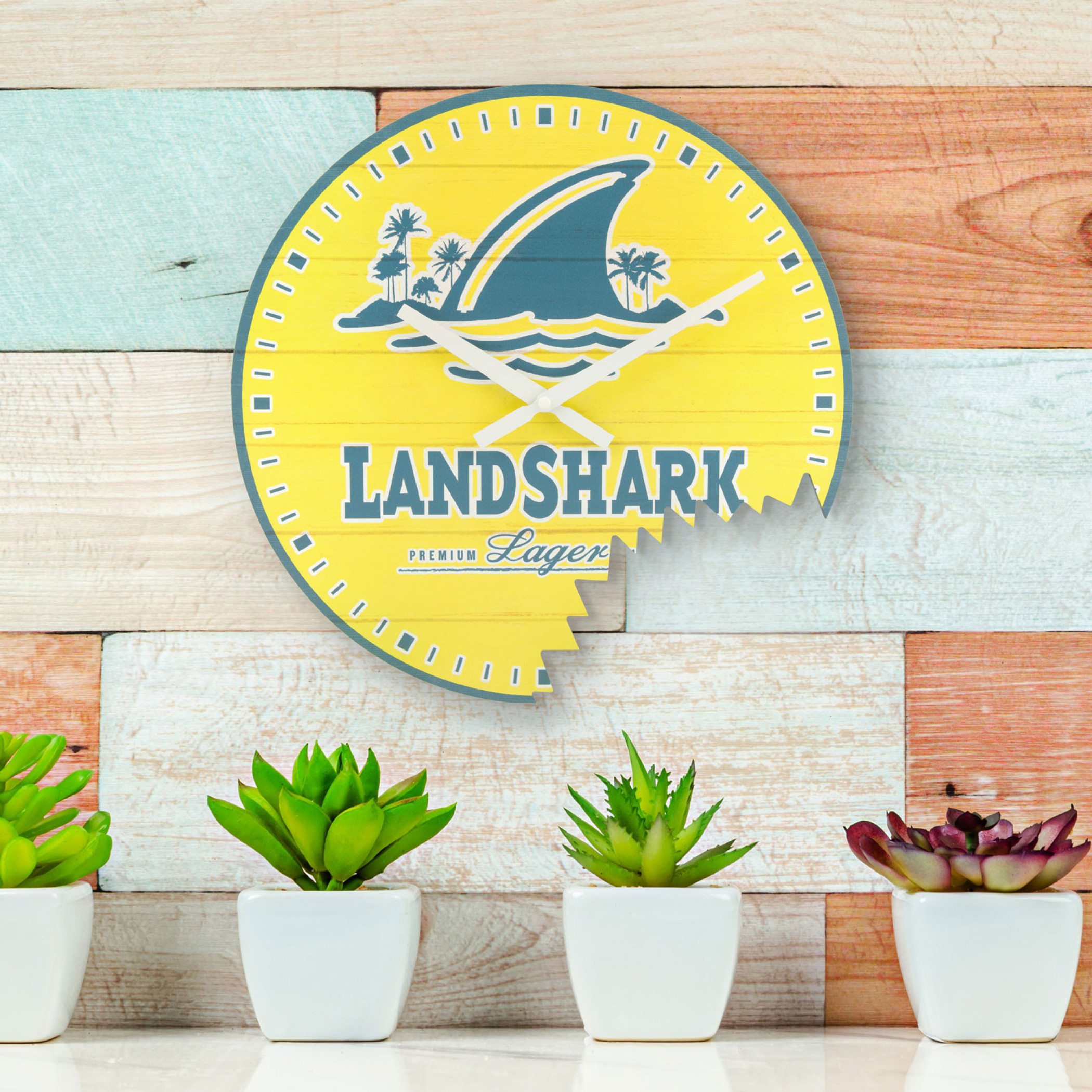 LandShark Bite Wall Clock