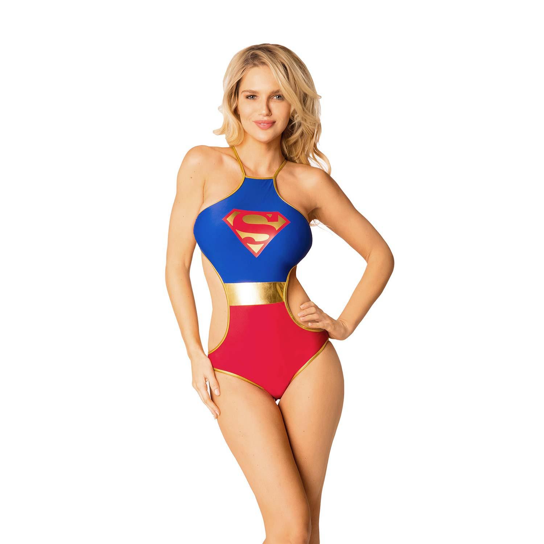 Women's Superman Monokini Swimsuit