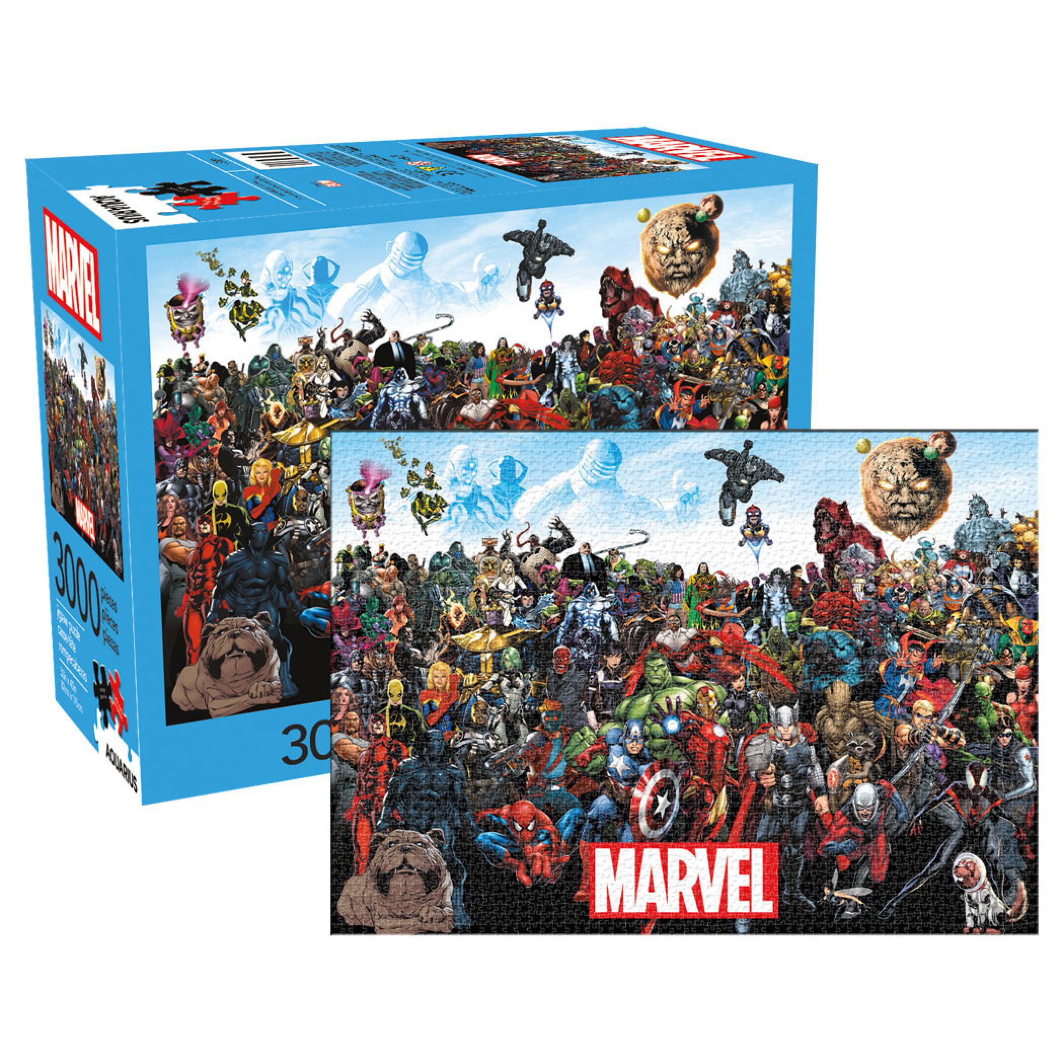 Marvel Cast Team Up 3,000 Piece Puzzle