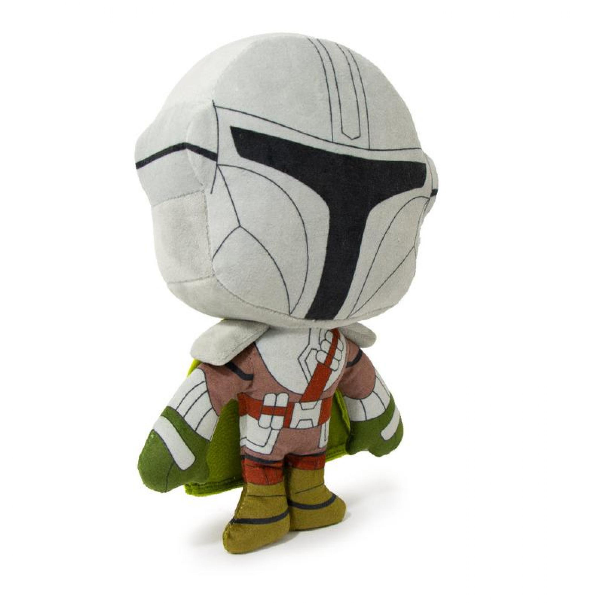 Star Wars Mandalorian Standing Pose Plush Squeaky Dog Toy