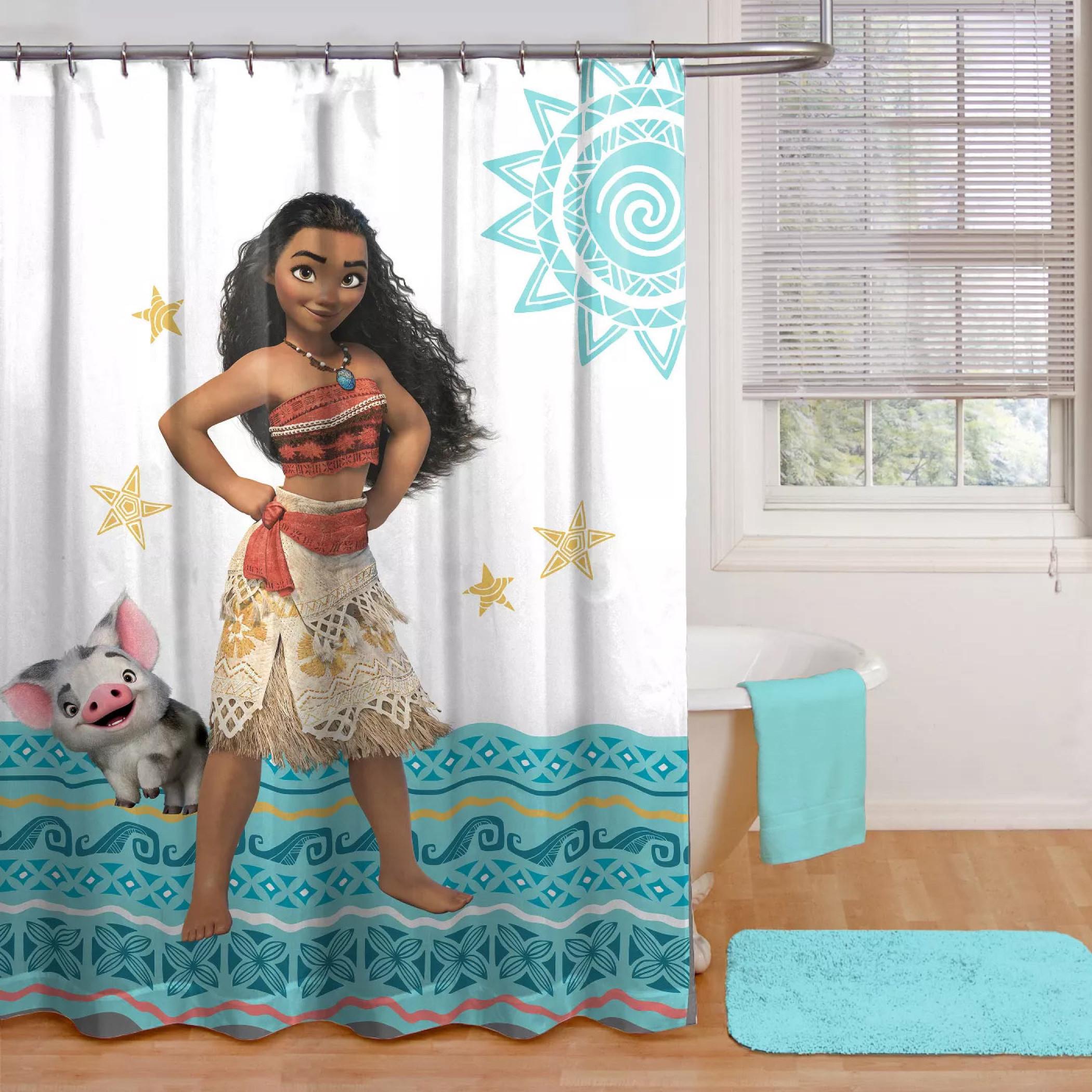 Disney Moana Shower Curtain