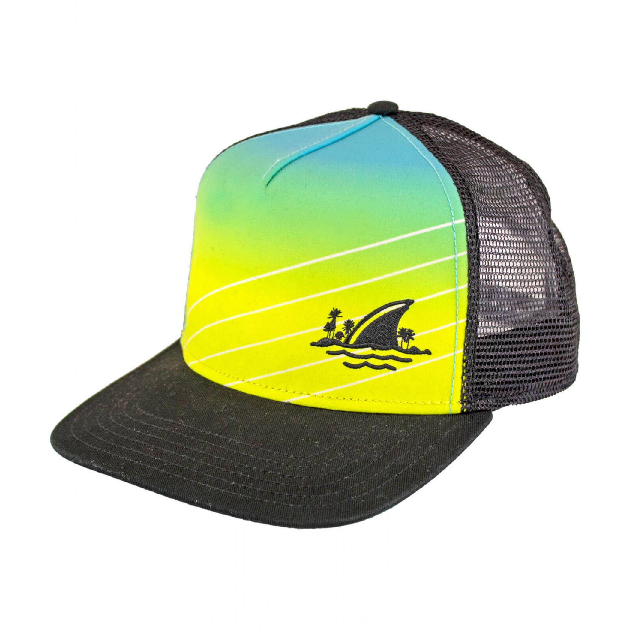 Landshark Beer Fin Snapback Trucker Hat