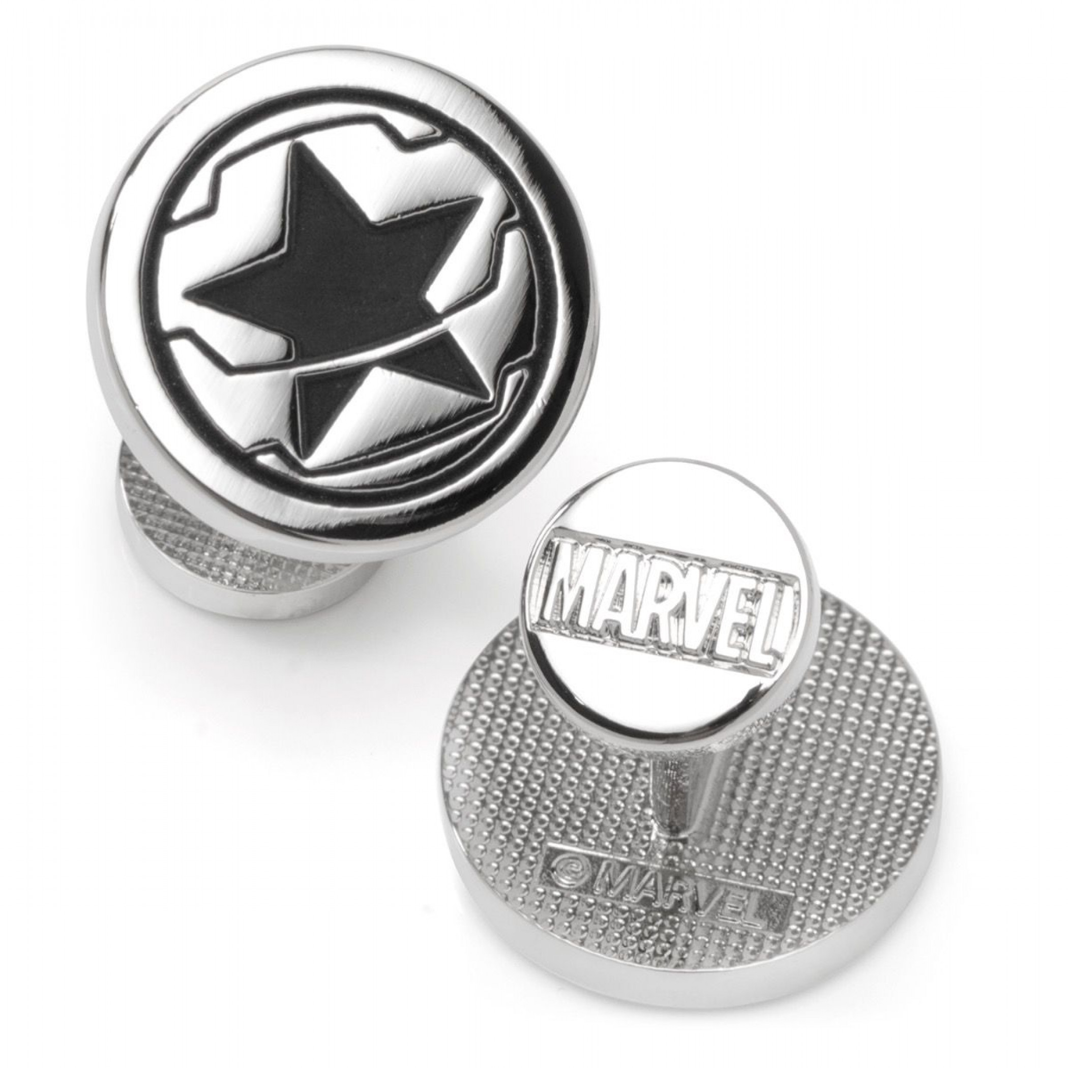 Winter Soldier Logo Cufflinks
