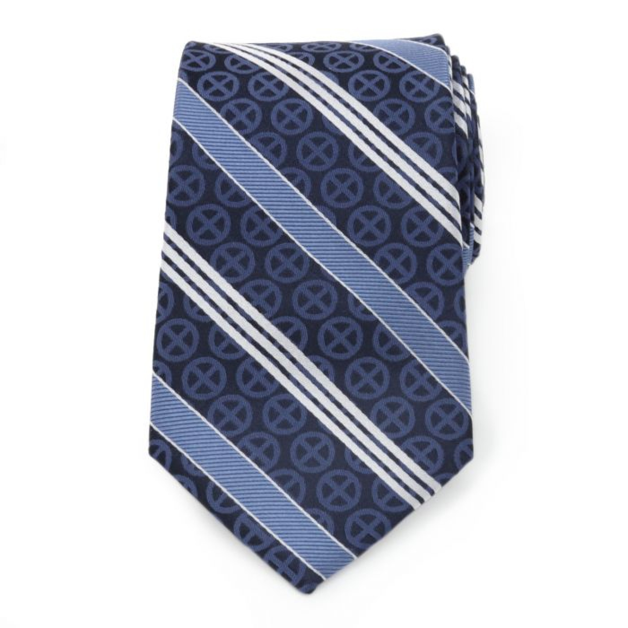 X-Men Symbol Navy Men's Silk Tie