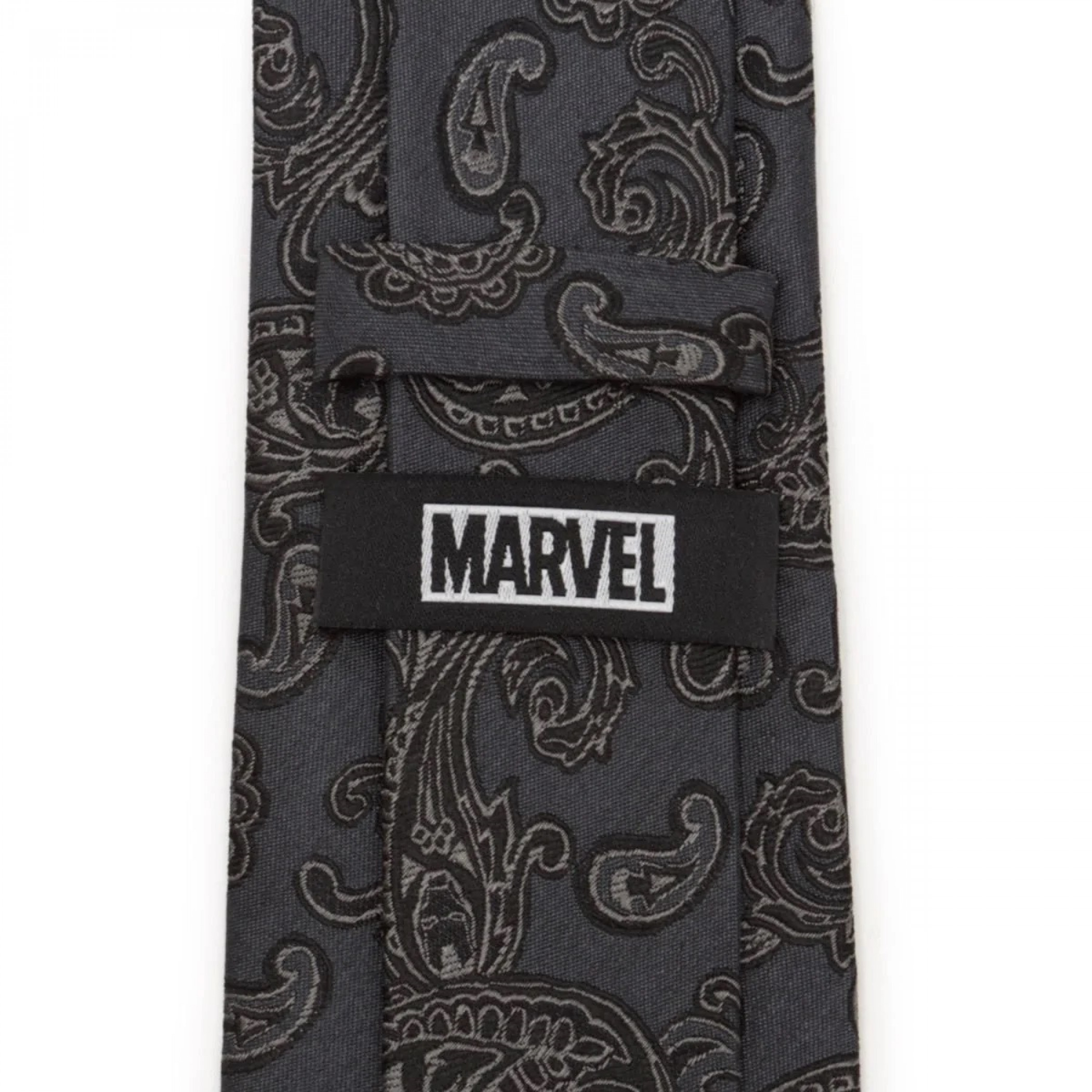 Iron Man Marvel Paisley Helmets All Over Silk Tie