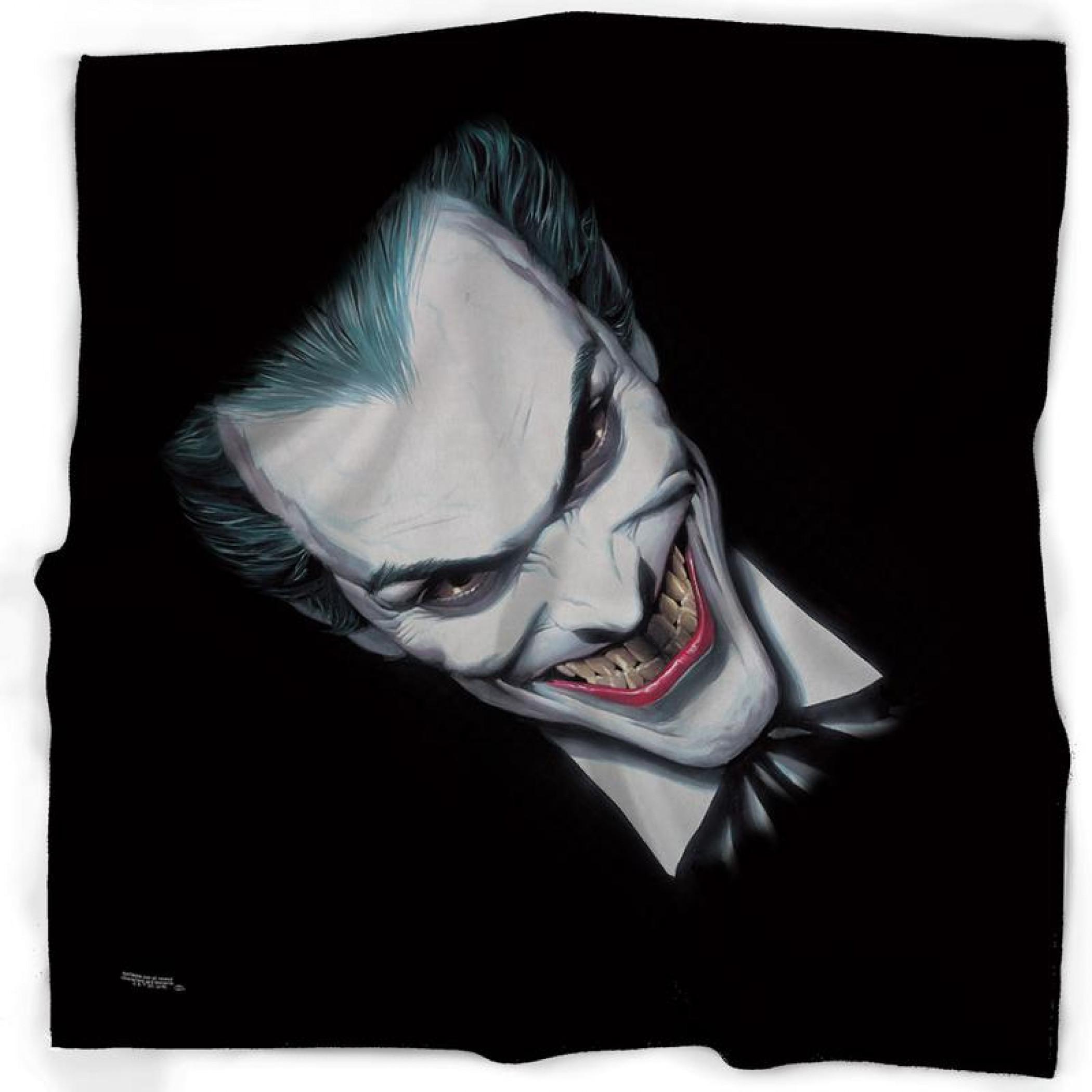 Joker Alex Ross Full Face Smile Bandana