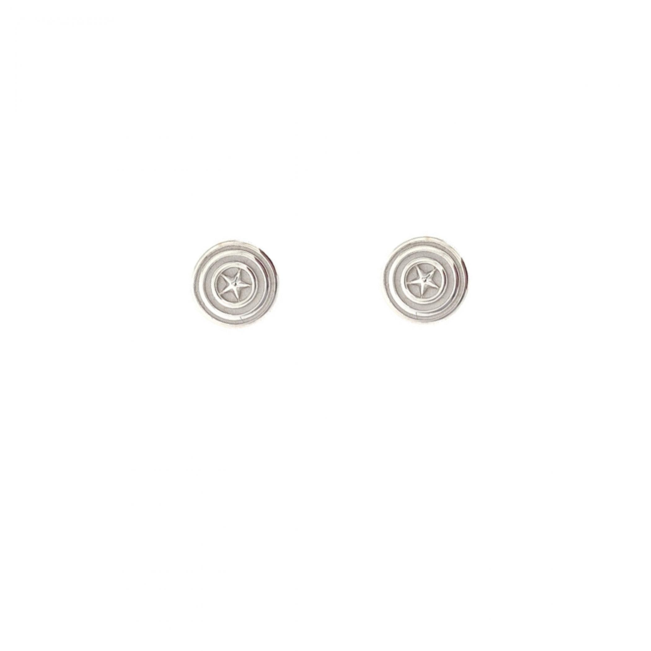 Marvel Captain America Stud Earrings