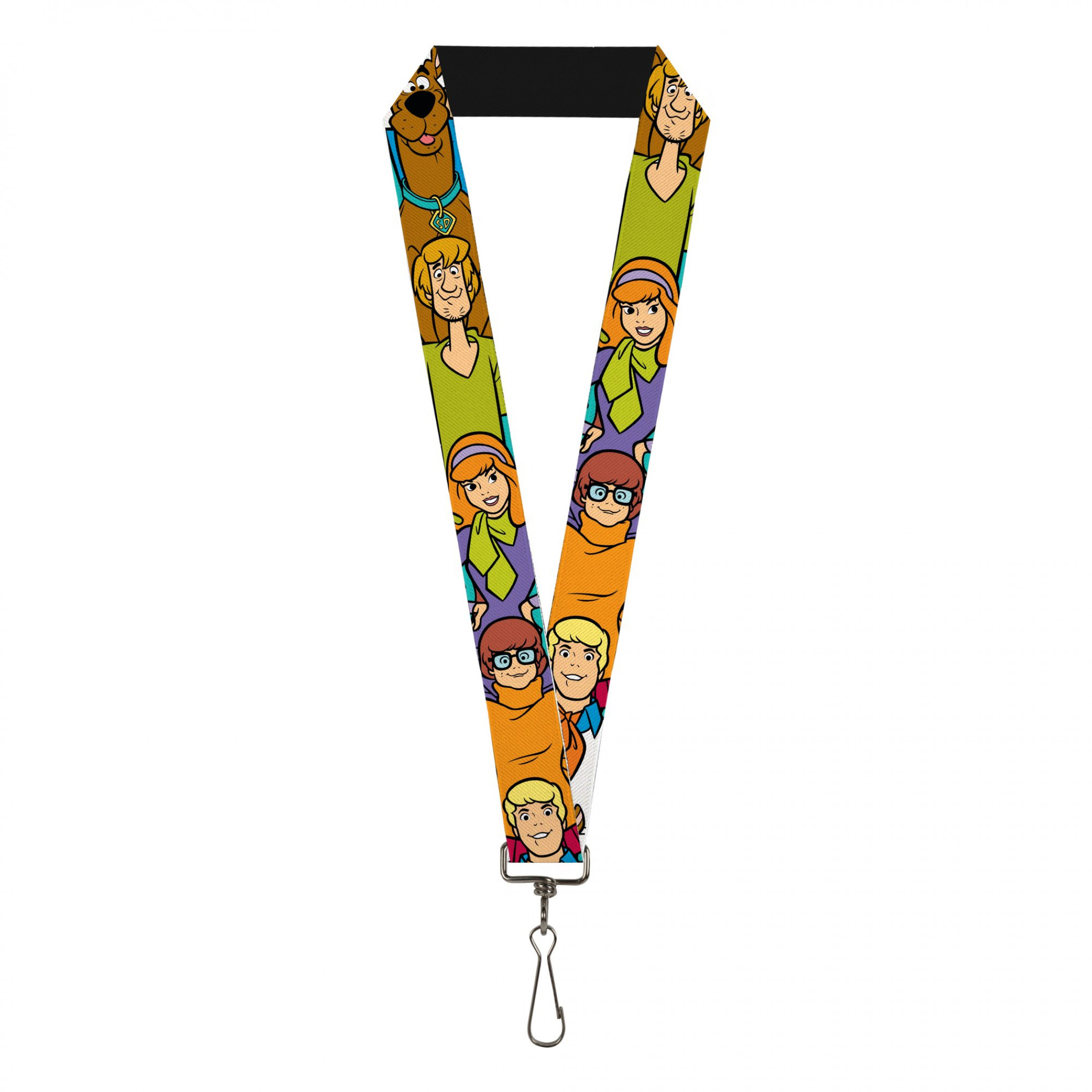 Scooby Doo Classic Character Poses Lanyard