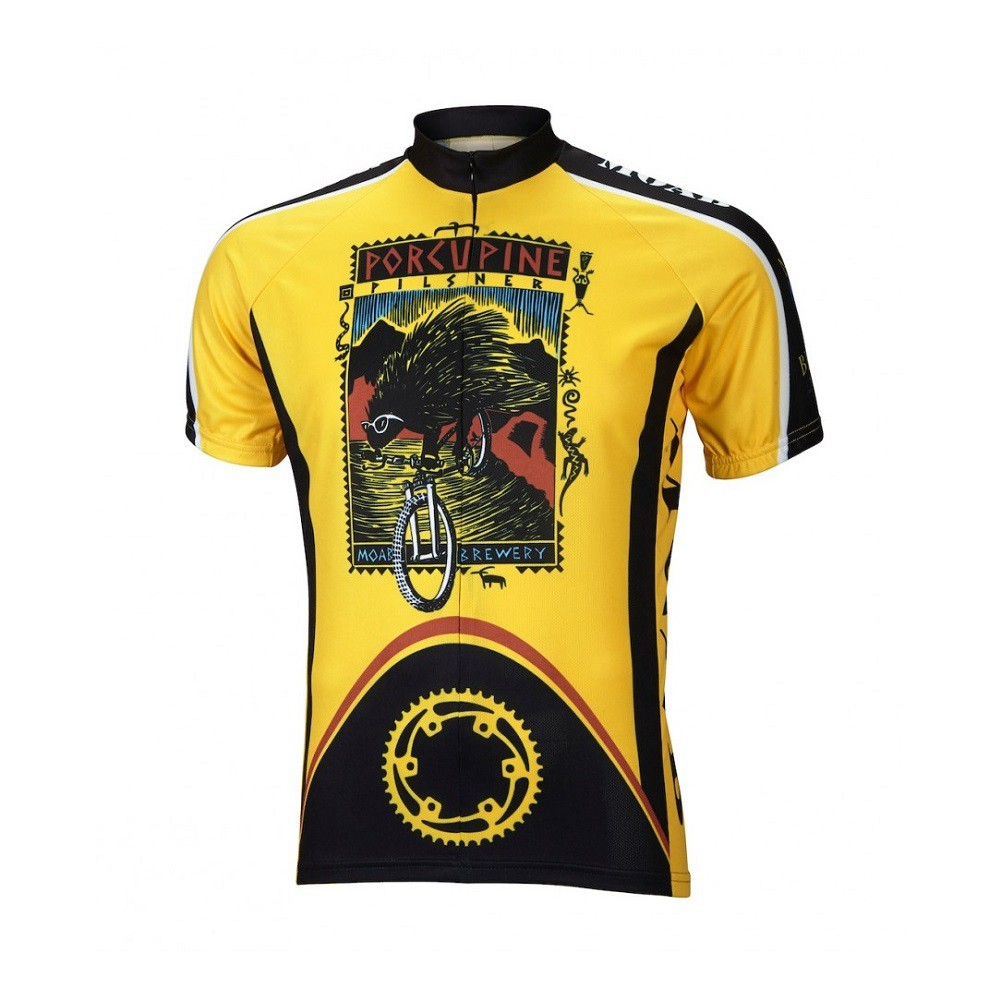 Moab Brewery Porcupine Pilsner Cycling Jersey