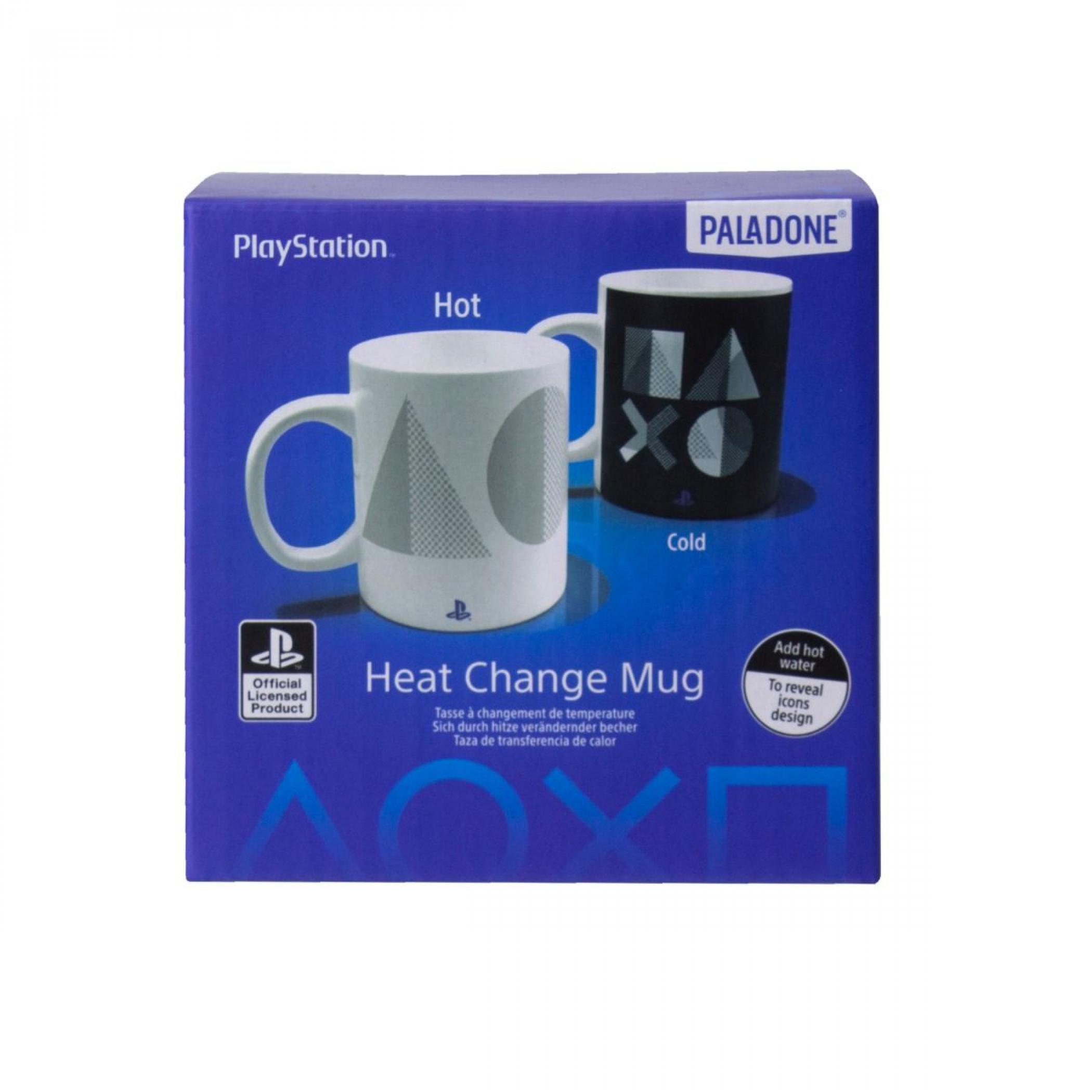 PlayStation PS5 Icons 10oz. Heat Change Ceramic Mug