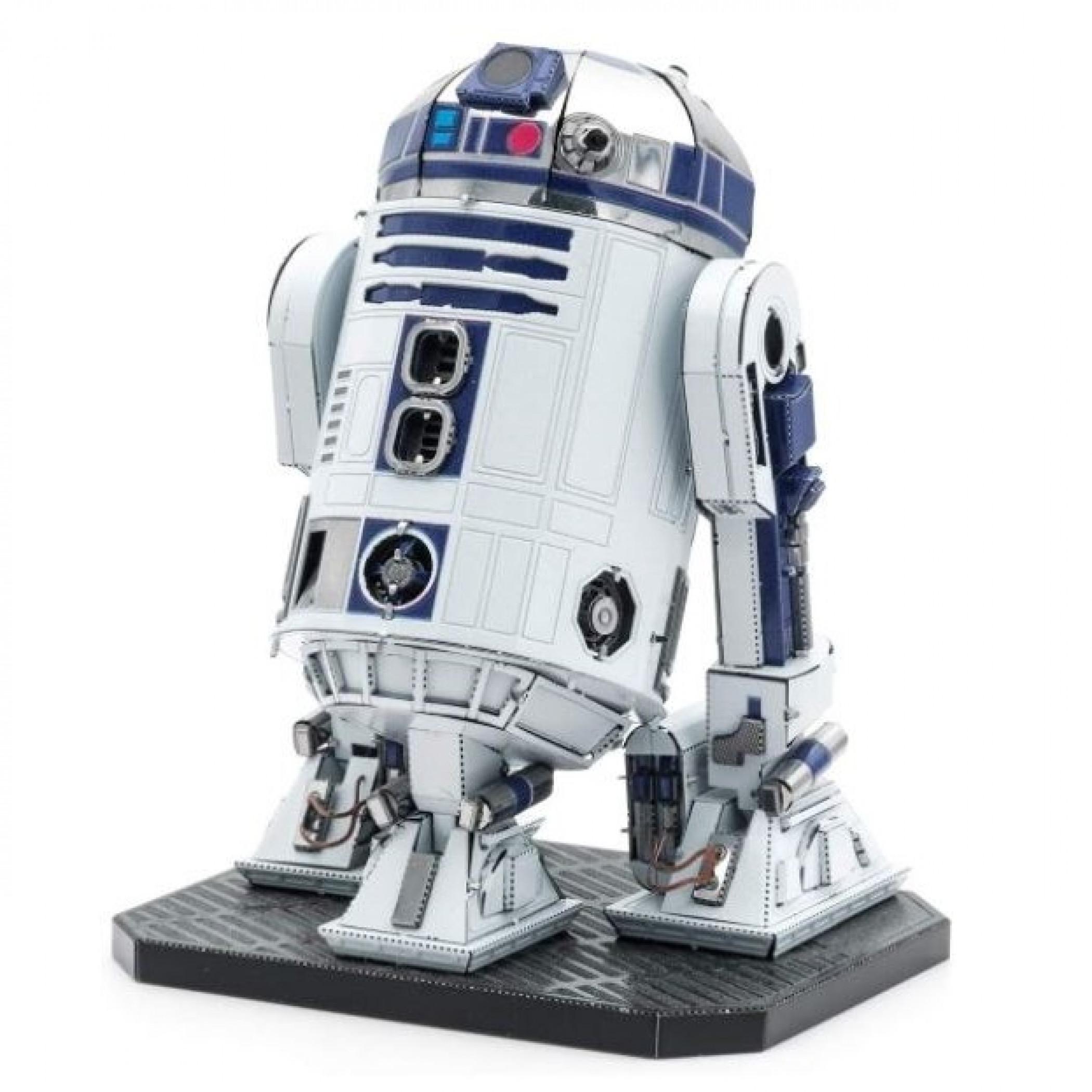 Star Wars R2-D2 Premium Color 3D Metal Earth Model Kit