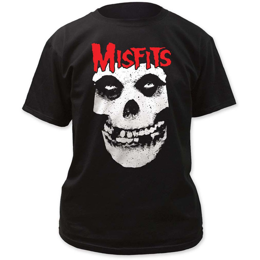 Red Skull Logo Misfits T-Shirt