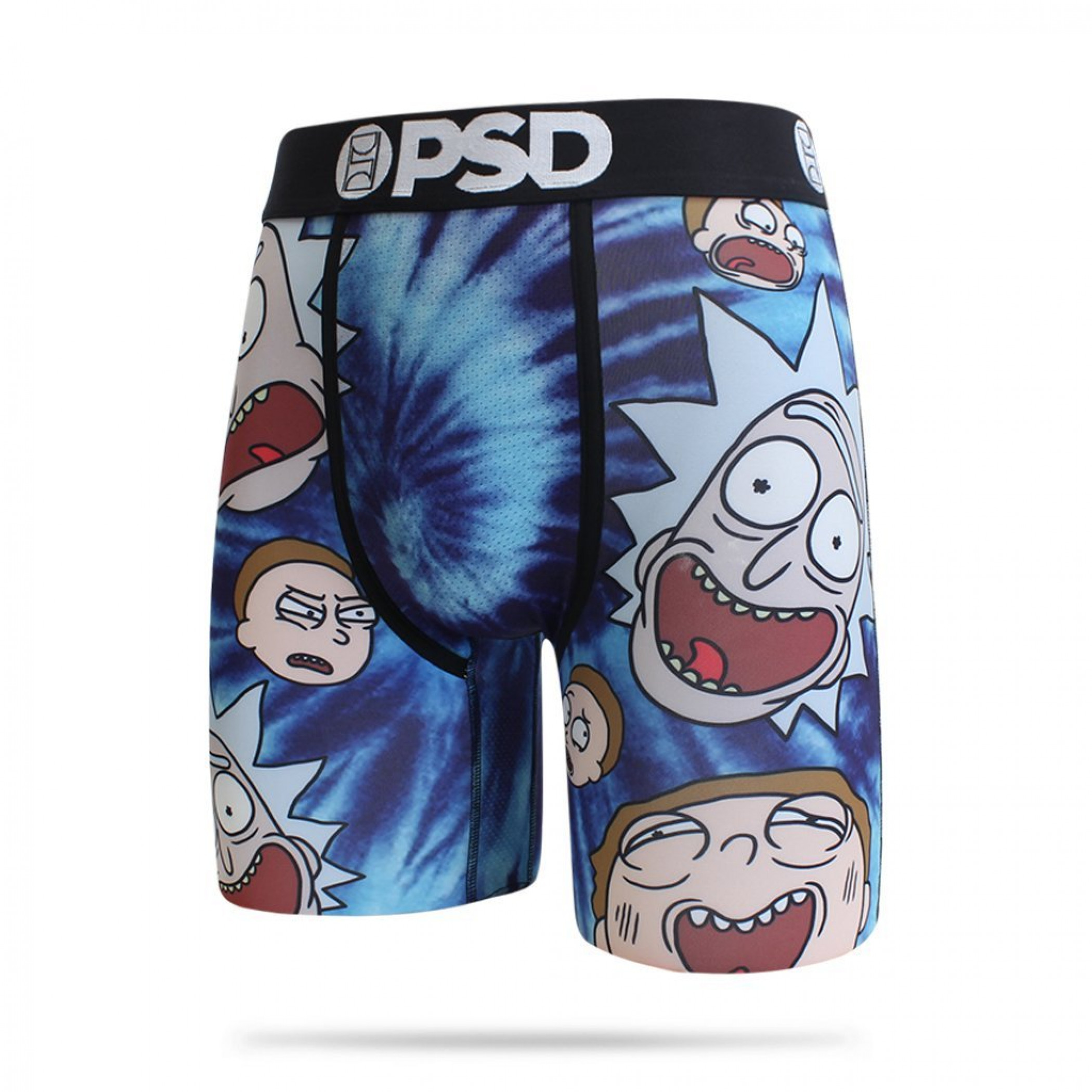 Rick and Morty Faces Boxer Briefs