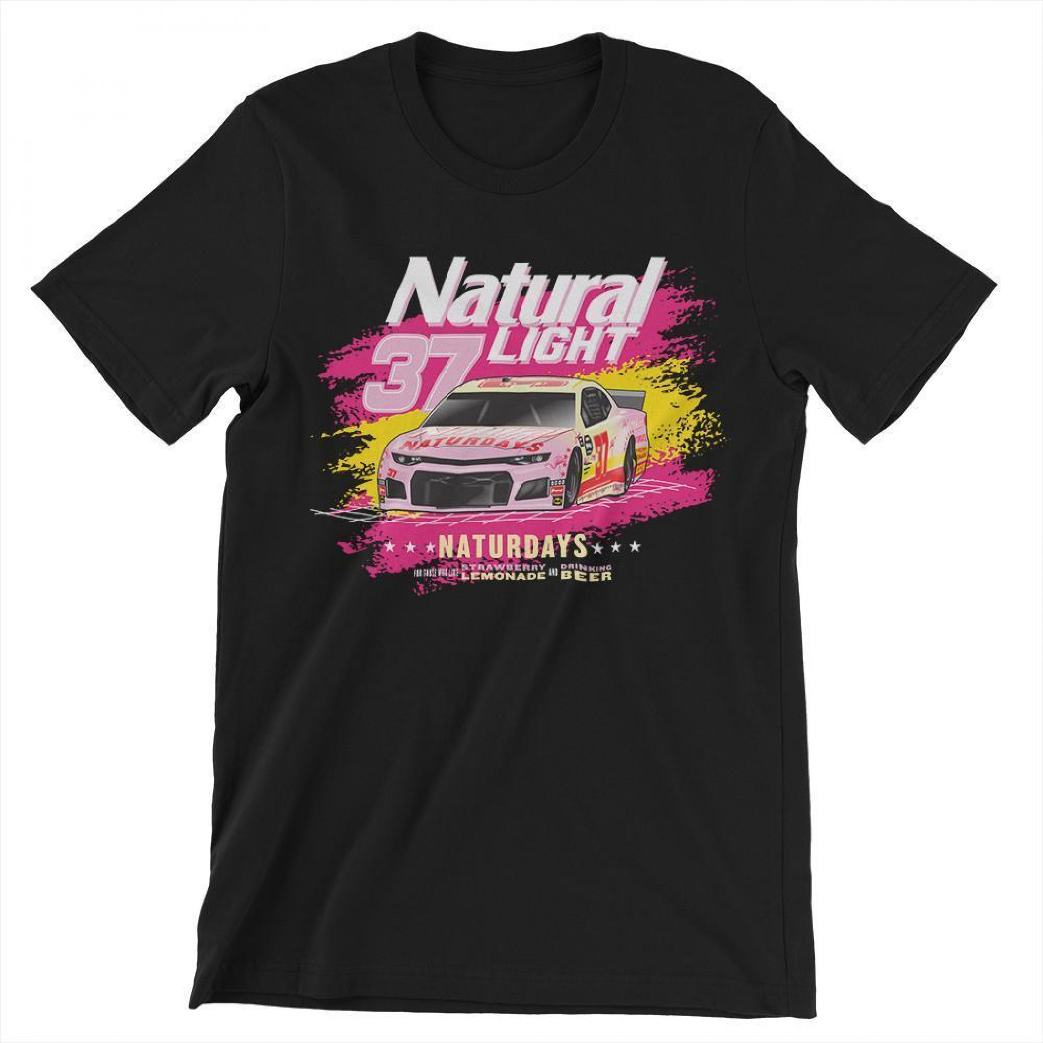 Naturdays NASCAR Natural Light #37 Car T-Shirt