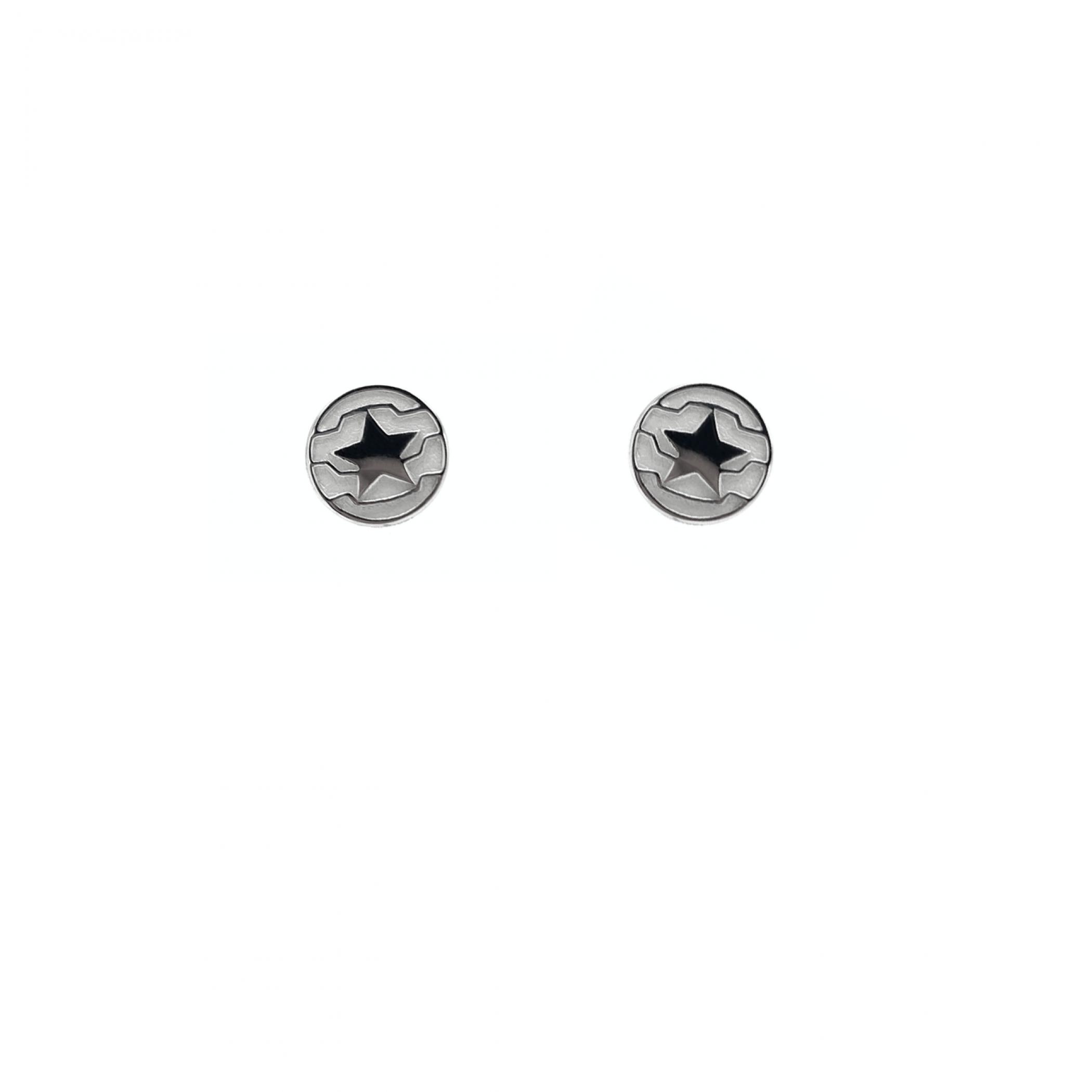 Winter Soldier Stud Earrings