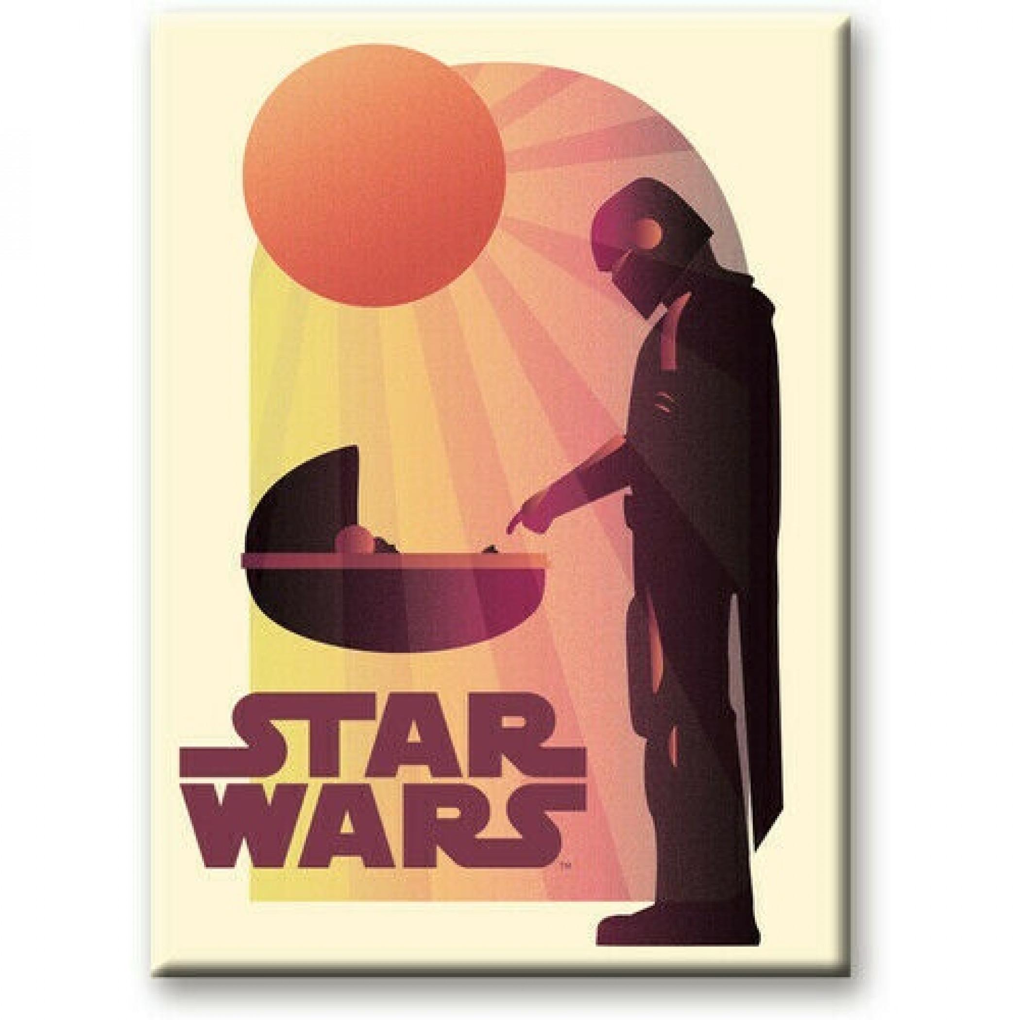 Star Wars The Mandalorian The Child Grogu Meet Magnet