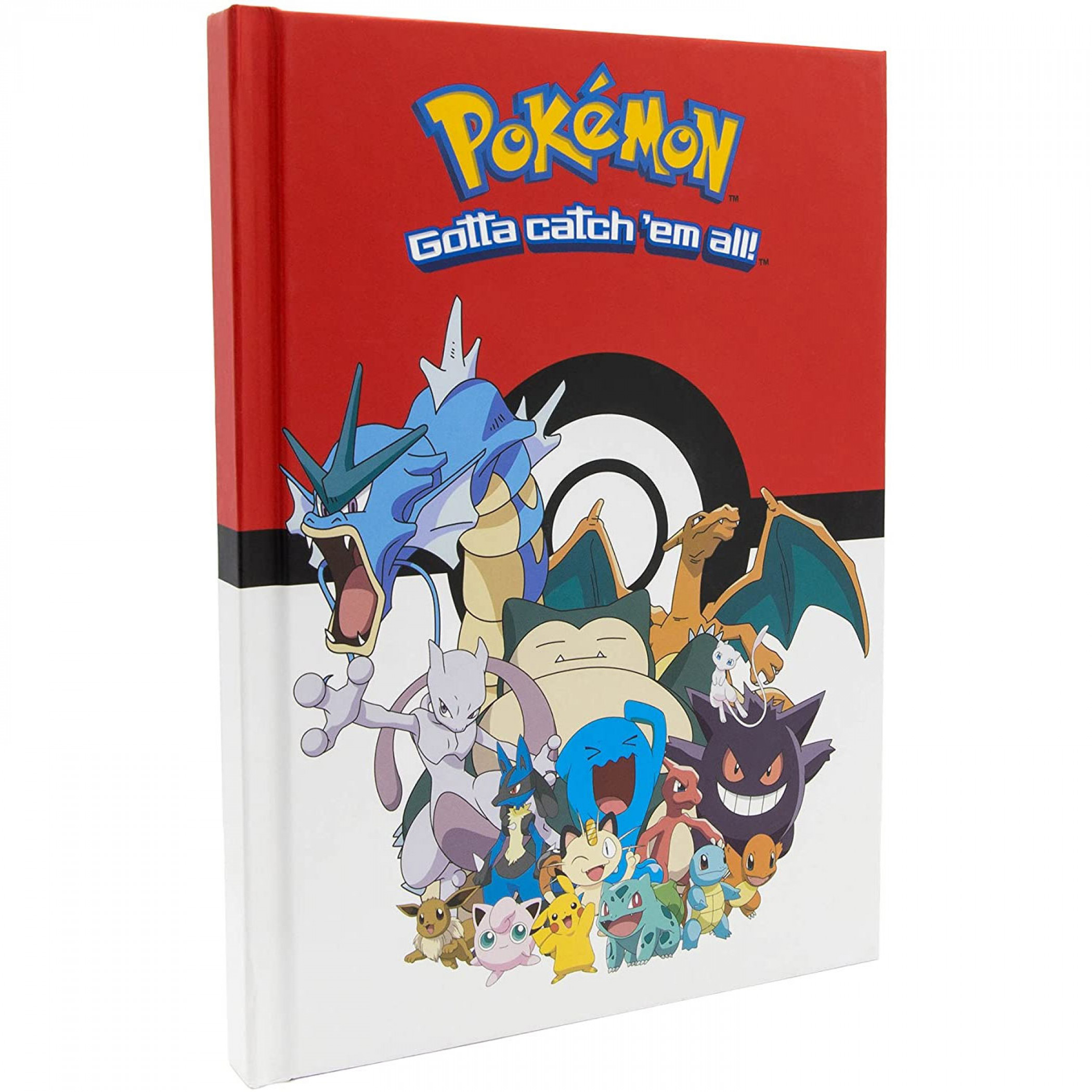 "Pokemon Hardcover 6"" x 8"" Journal"