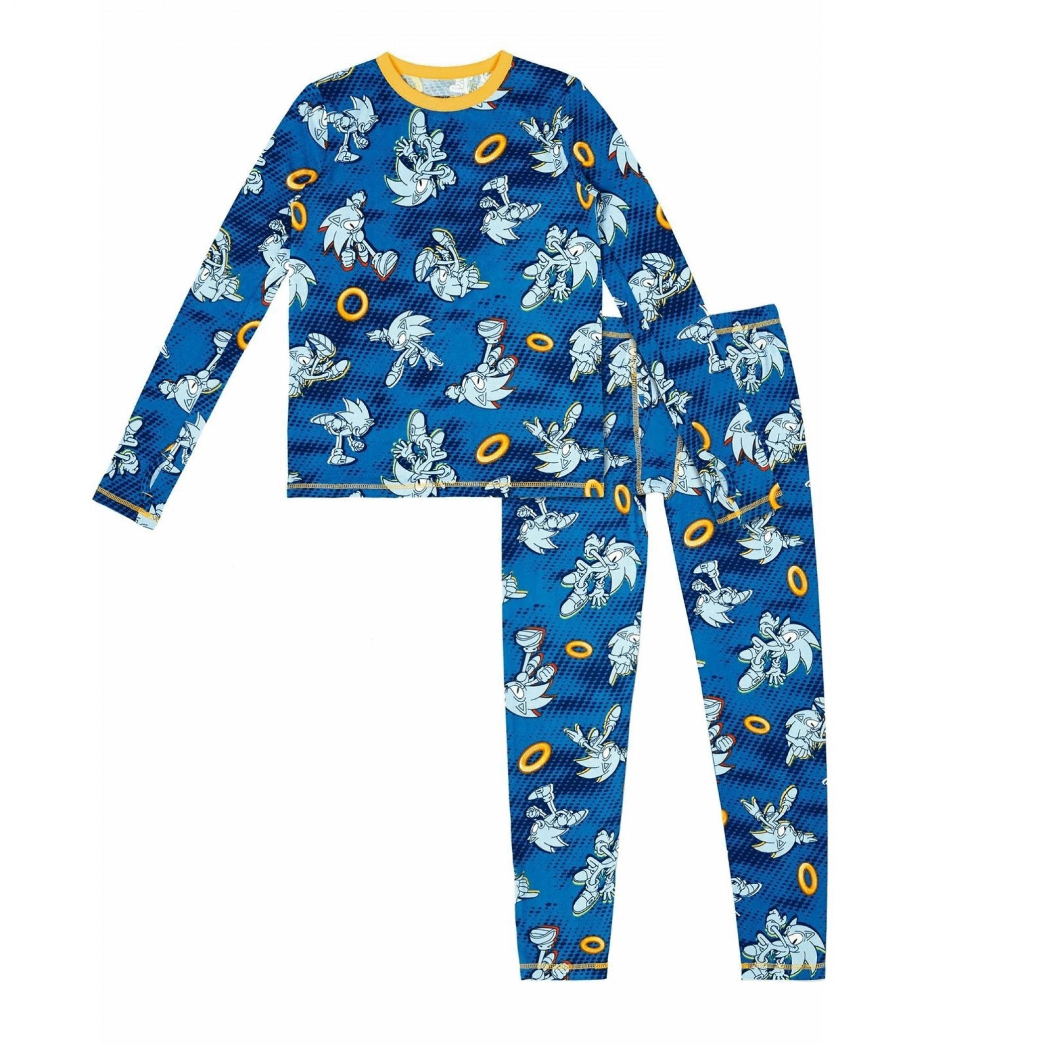 Sonic the Hedgehog 2-Piece Insulating Warm Pajama Set