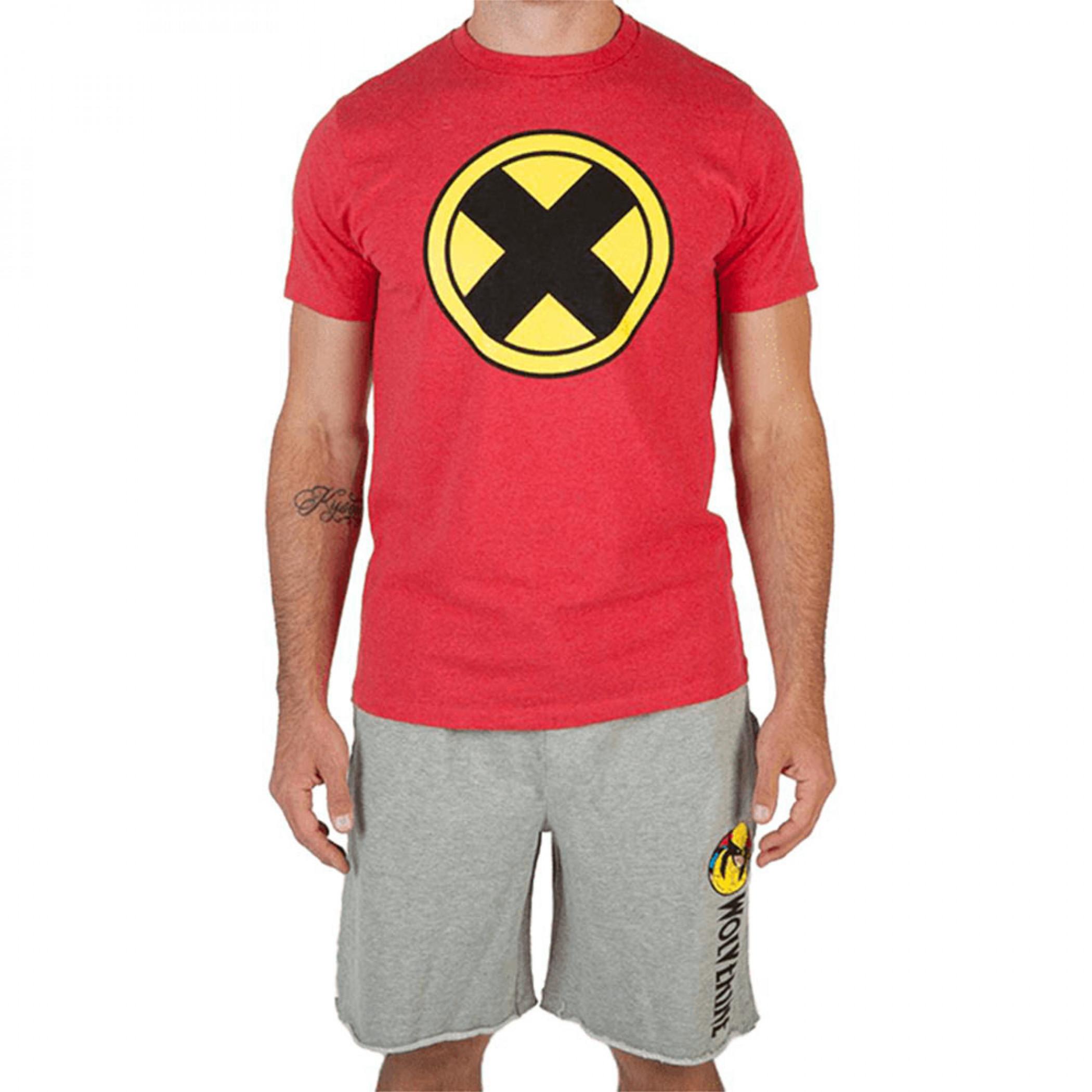 Marvel X-Men Comics T-Shirt and Short Set