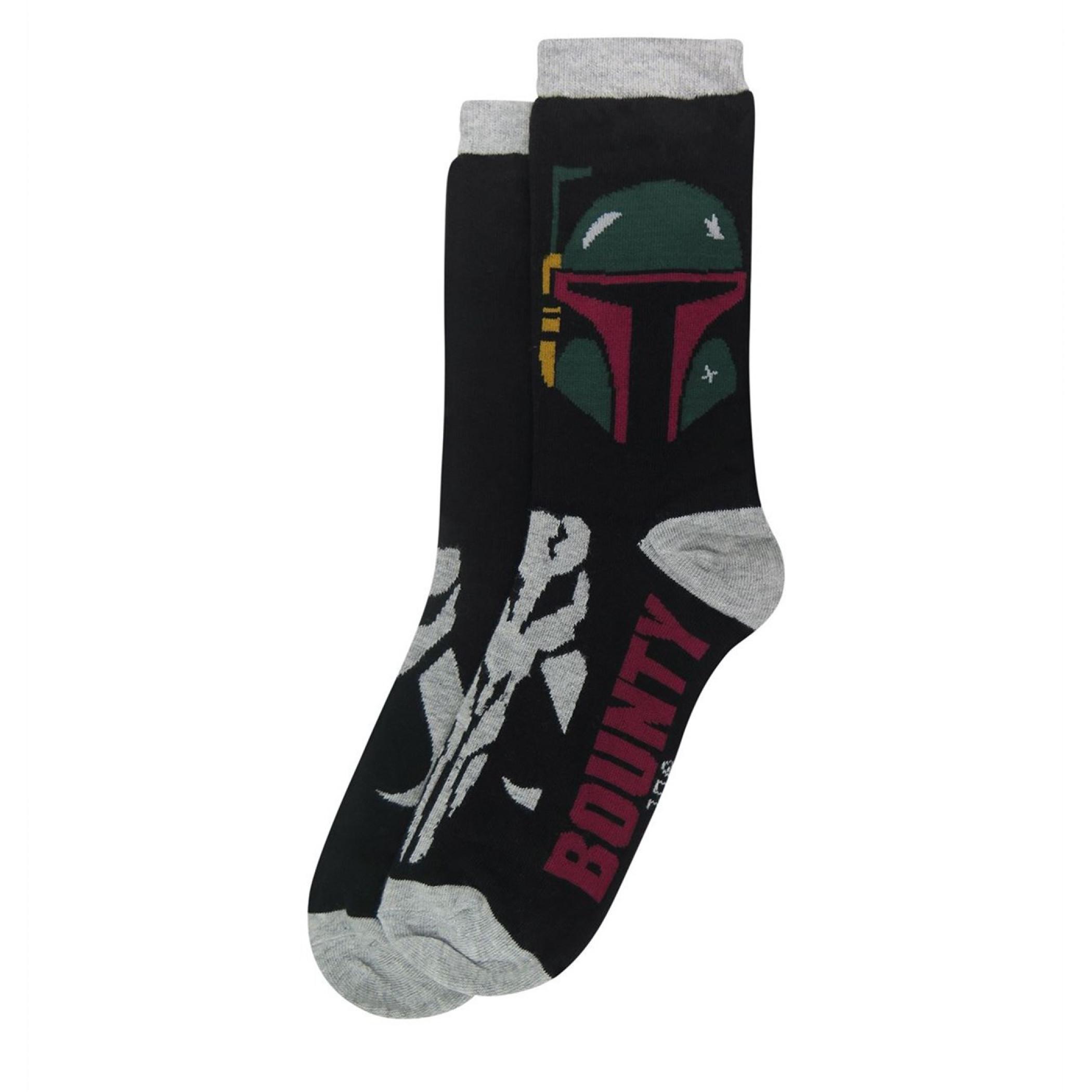 Star Wars Villains Symbols Crew Socks 2-Pair Pack