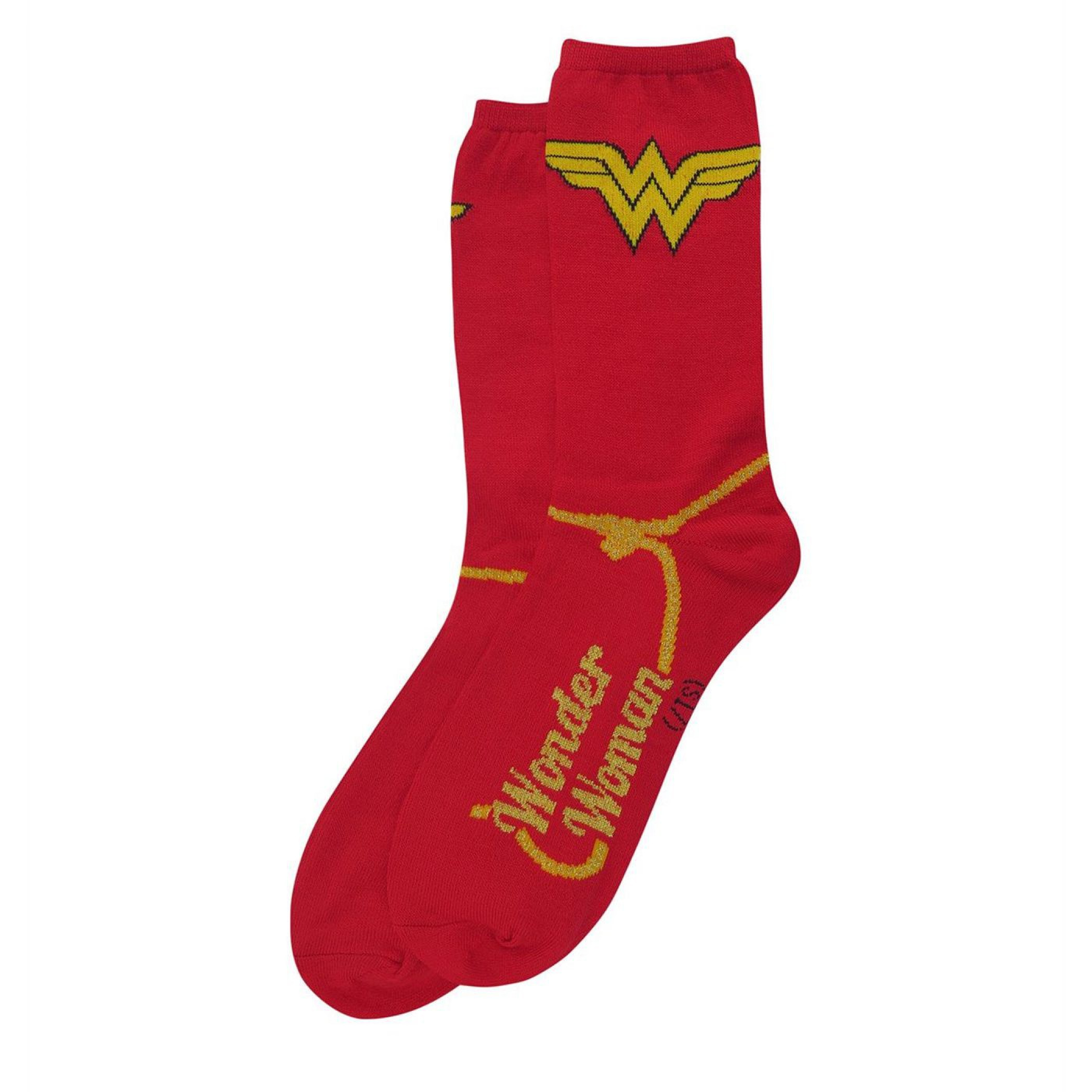 DC Comics Justice League Symbols 7-Pair Pack of Crew Socks