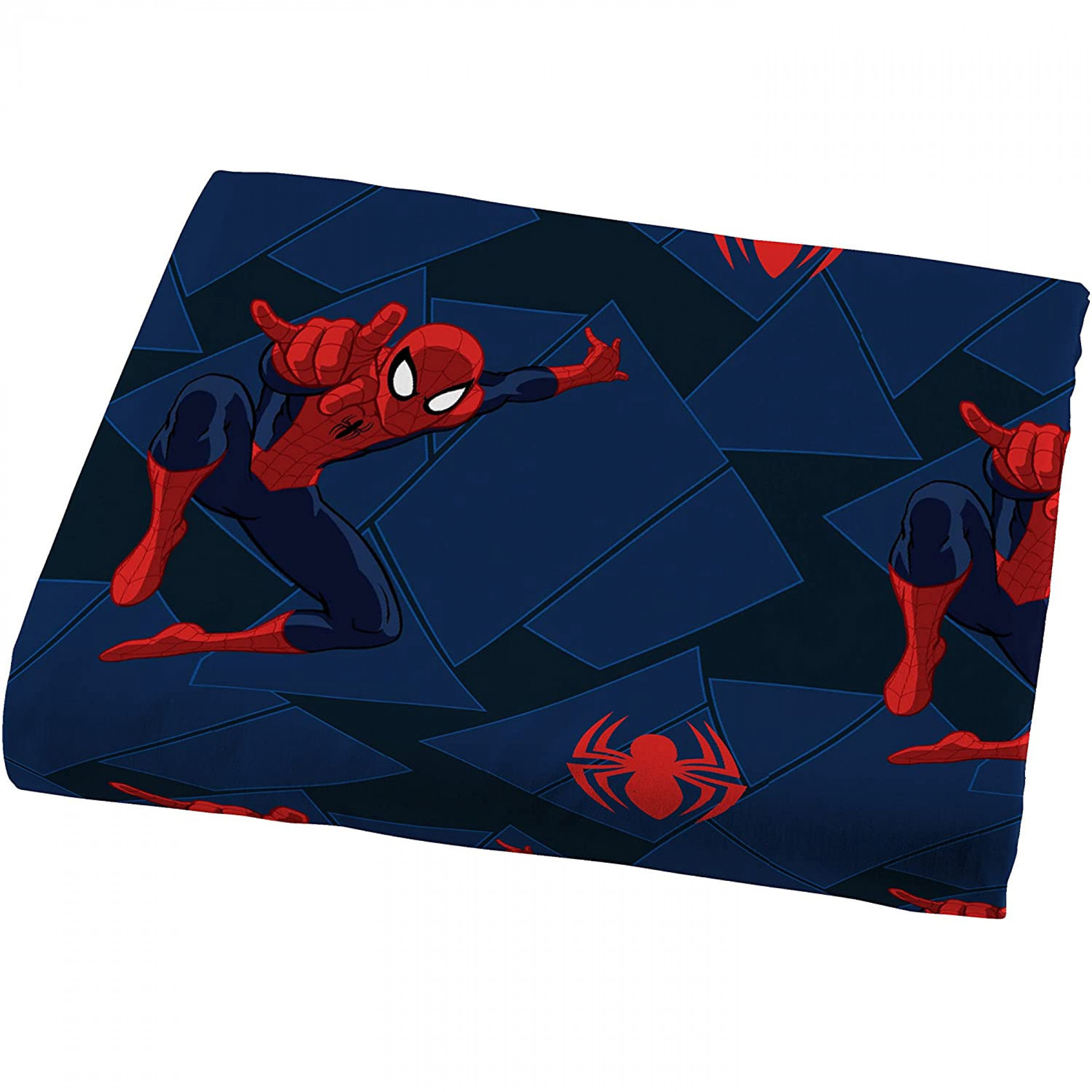 Marvel Spider-Man Saving The Day Microfiber 3-Piece Twin Sheet Set
