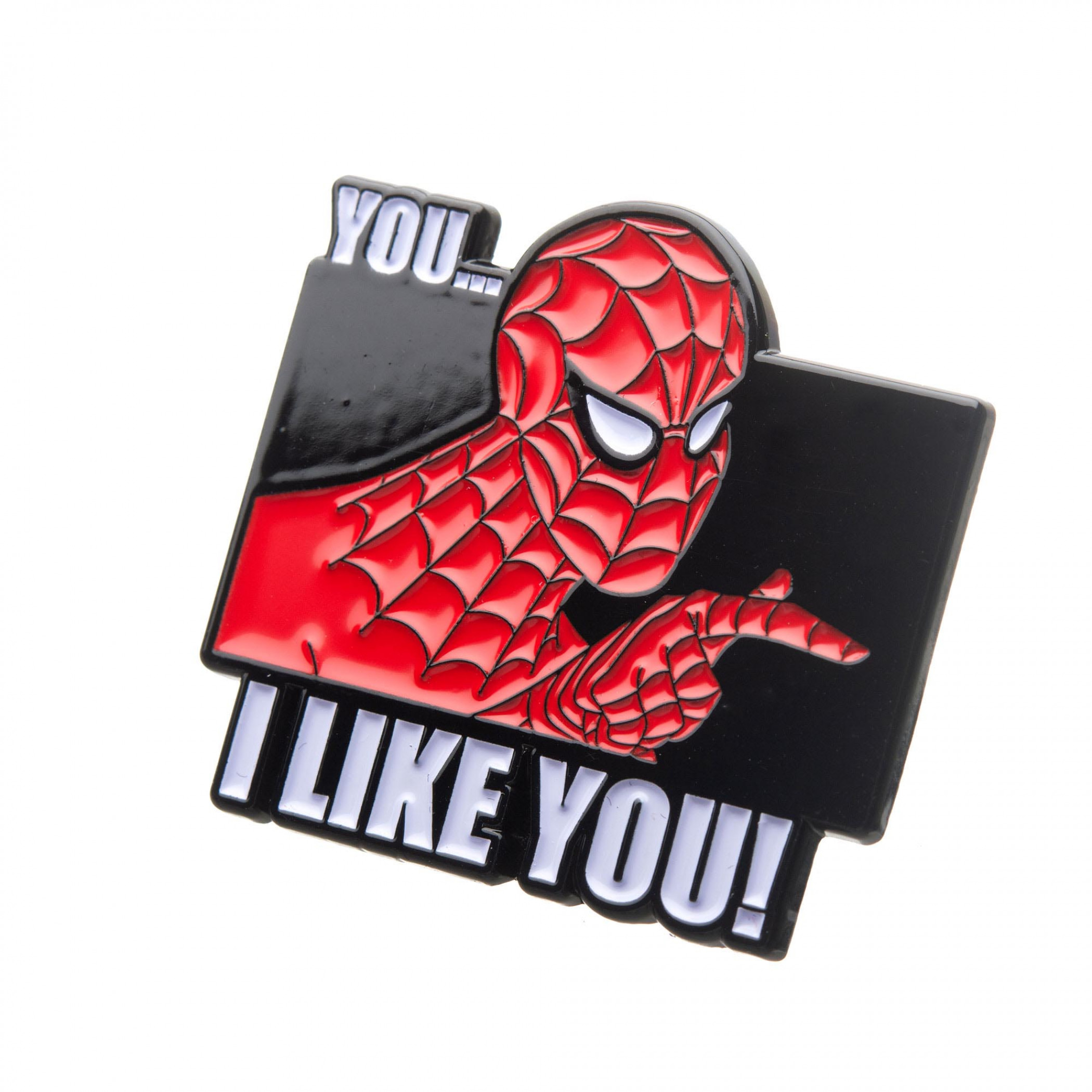 Spider-Man I Like You Pin