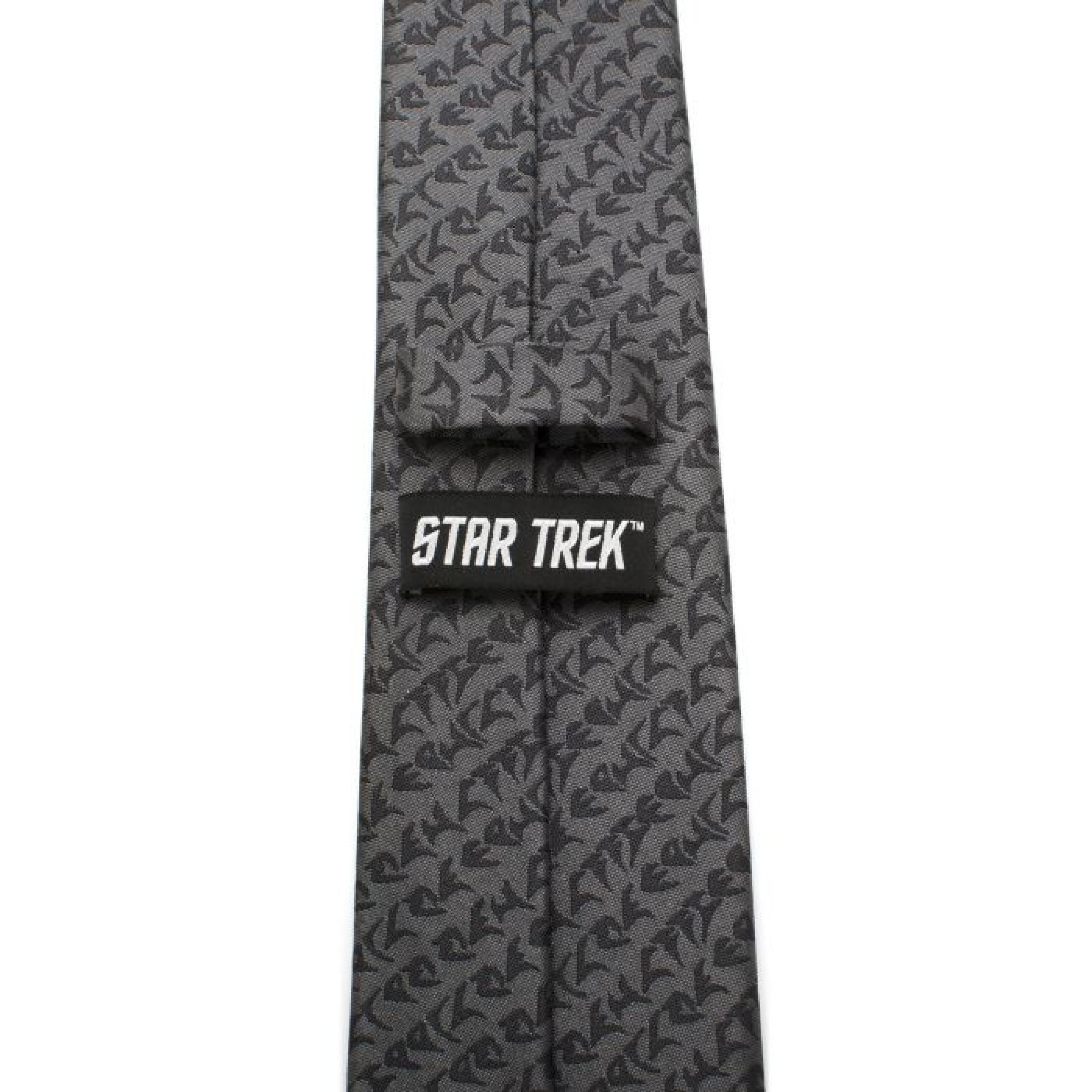 Star Trek Klingon Gray Men's Silk Tie