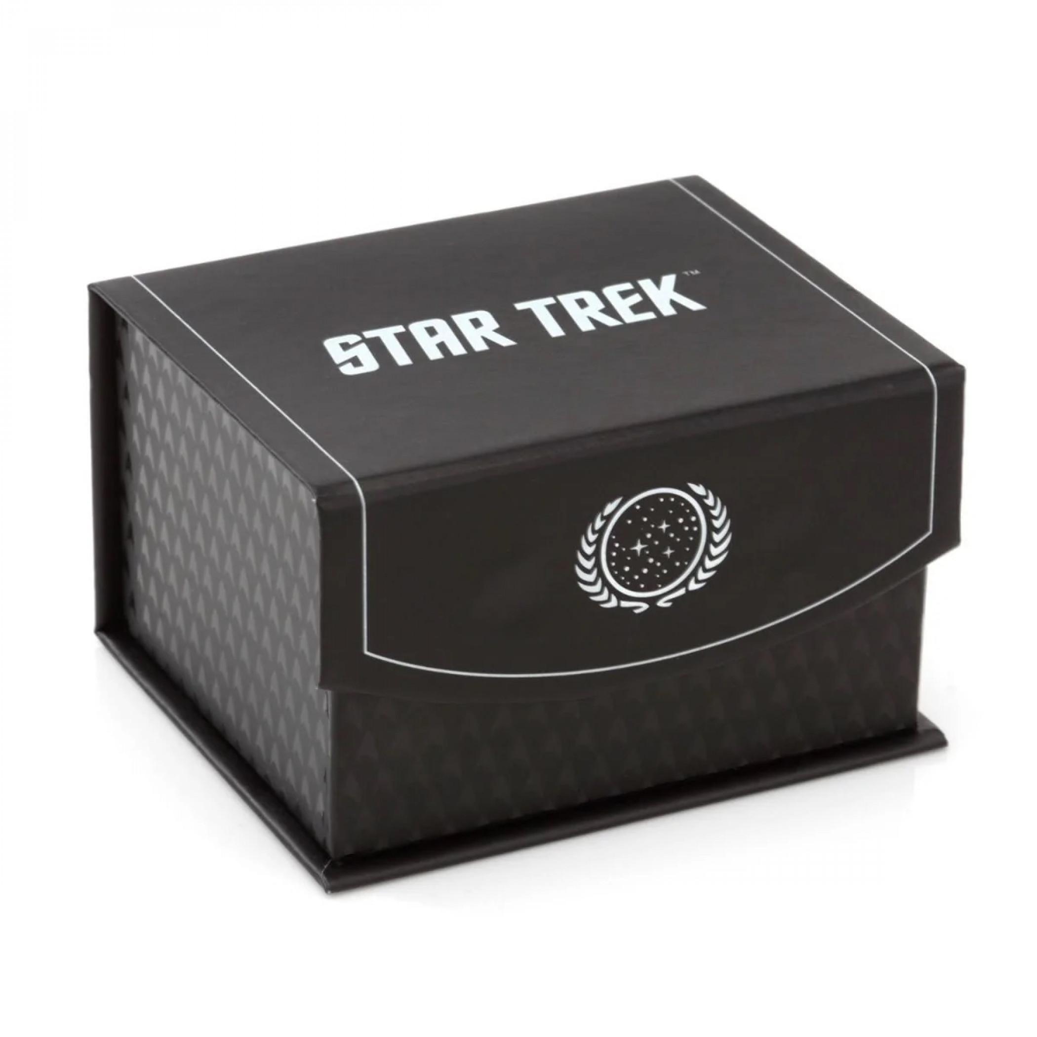 Star Trek Delta Shield Cutout Tie Bar