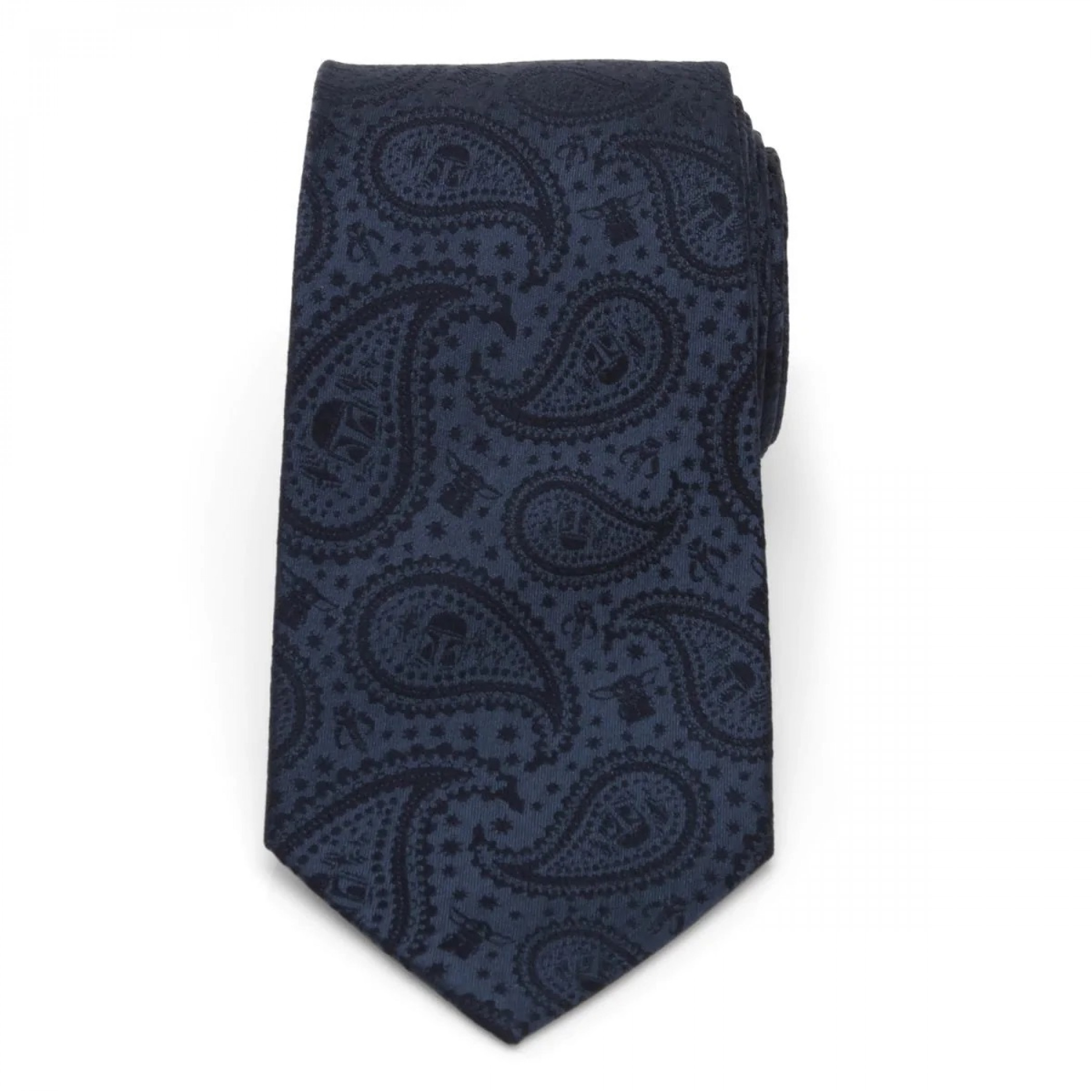 Star Wars The Mandalorian The Child Paisley Silk Tie