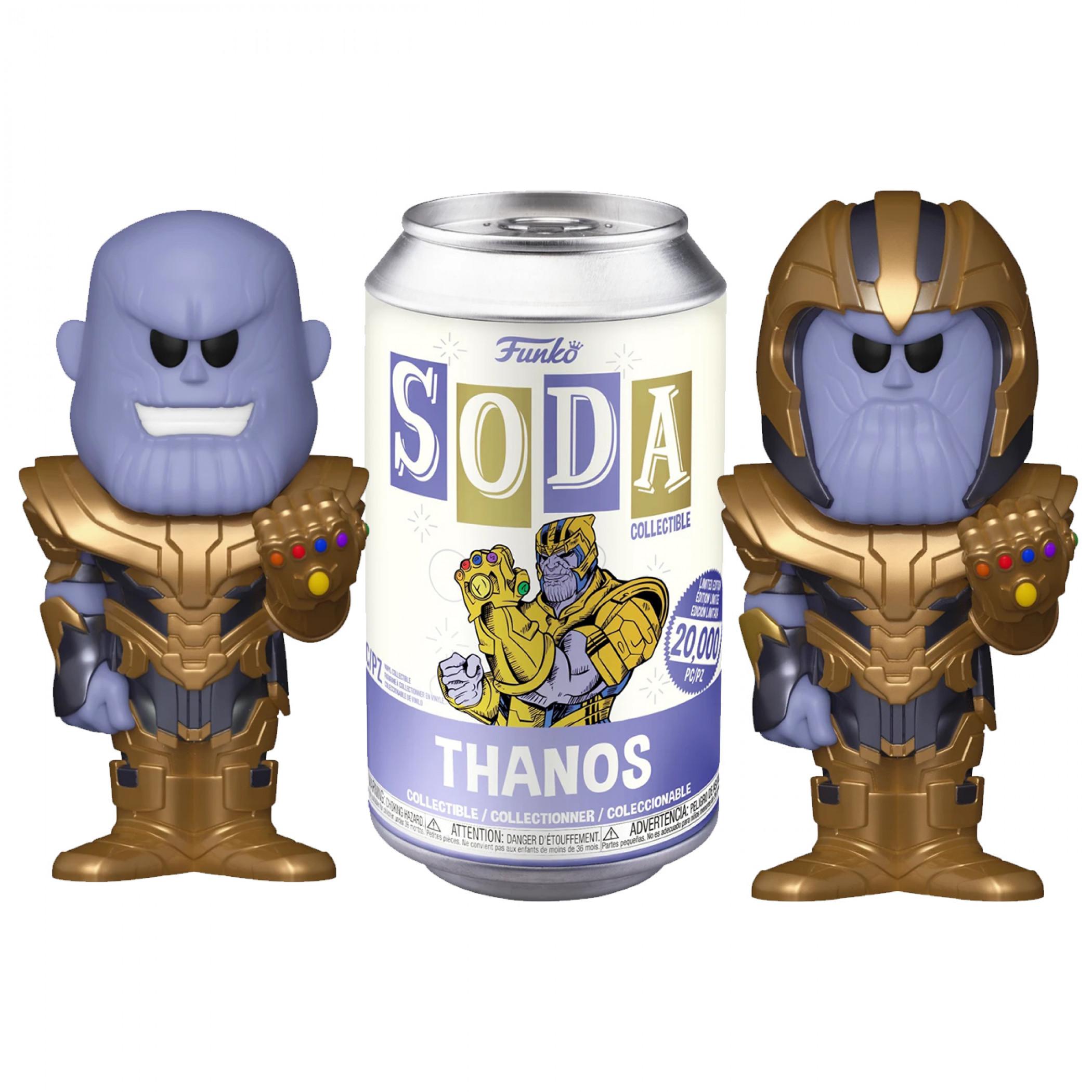 Marvel Avengers Thanos SODA Vinyl w/ Chase Variant