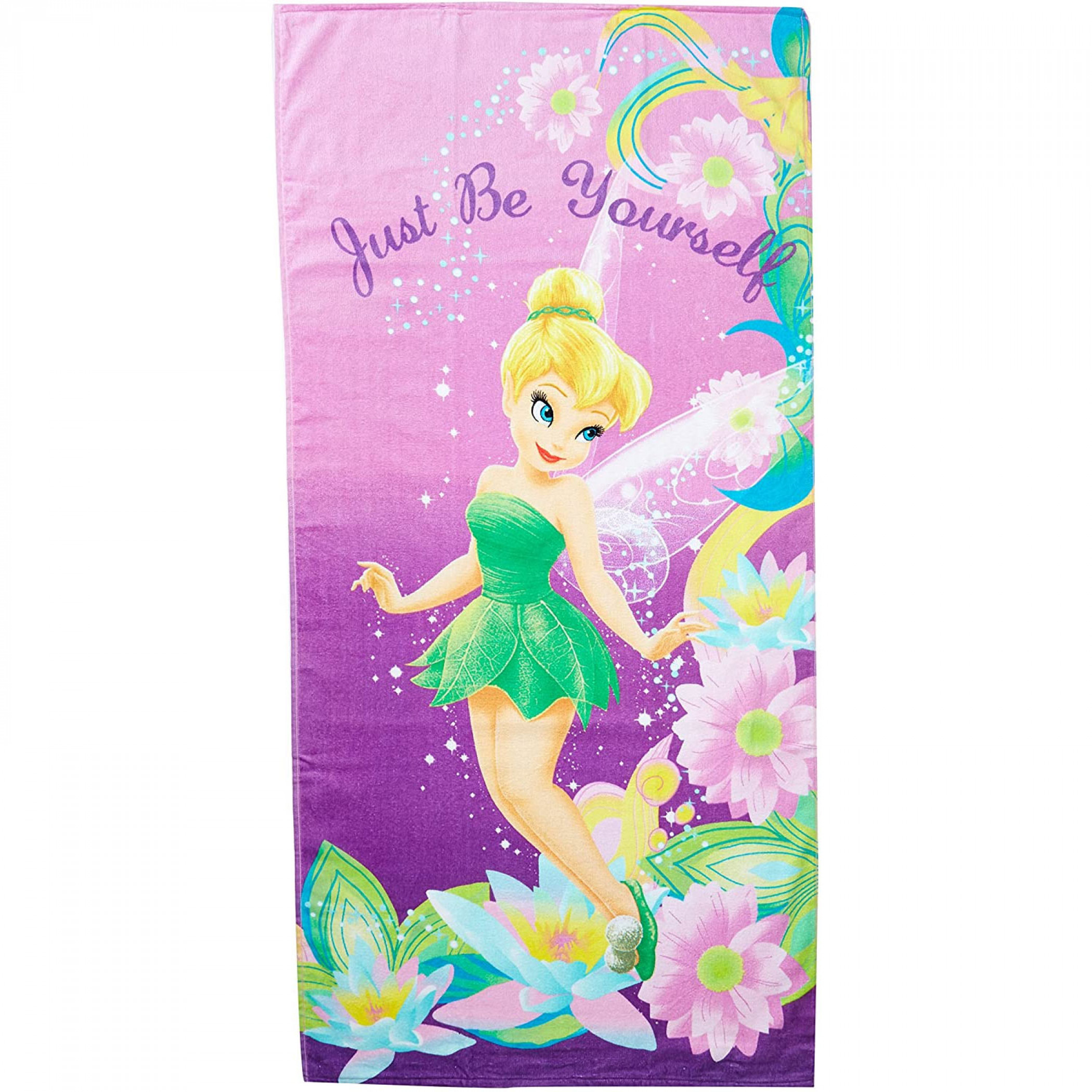 Disney Tinker Bell Pretty Girl Beach Towel