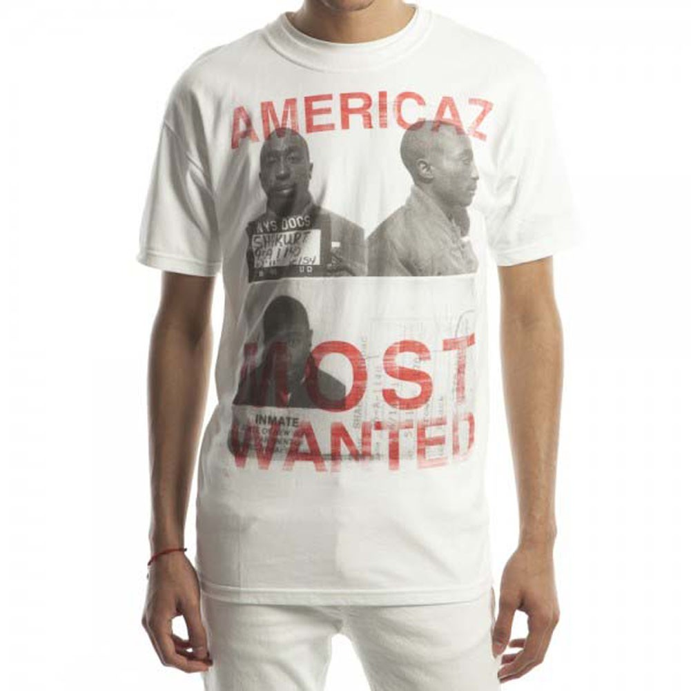 Tupac Americaz Most Wanted T-Shirt