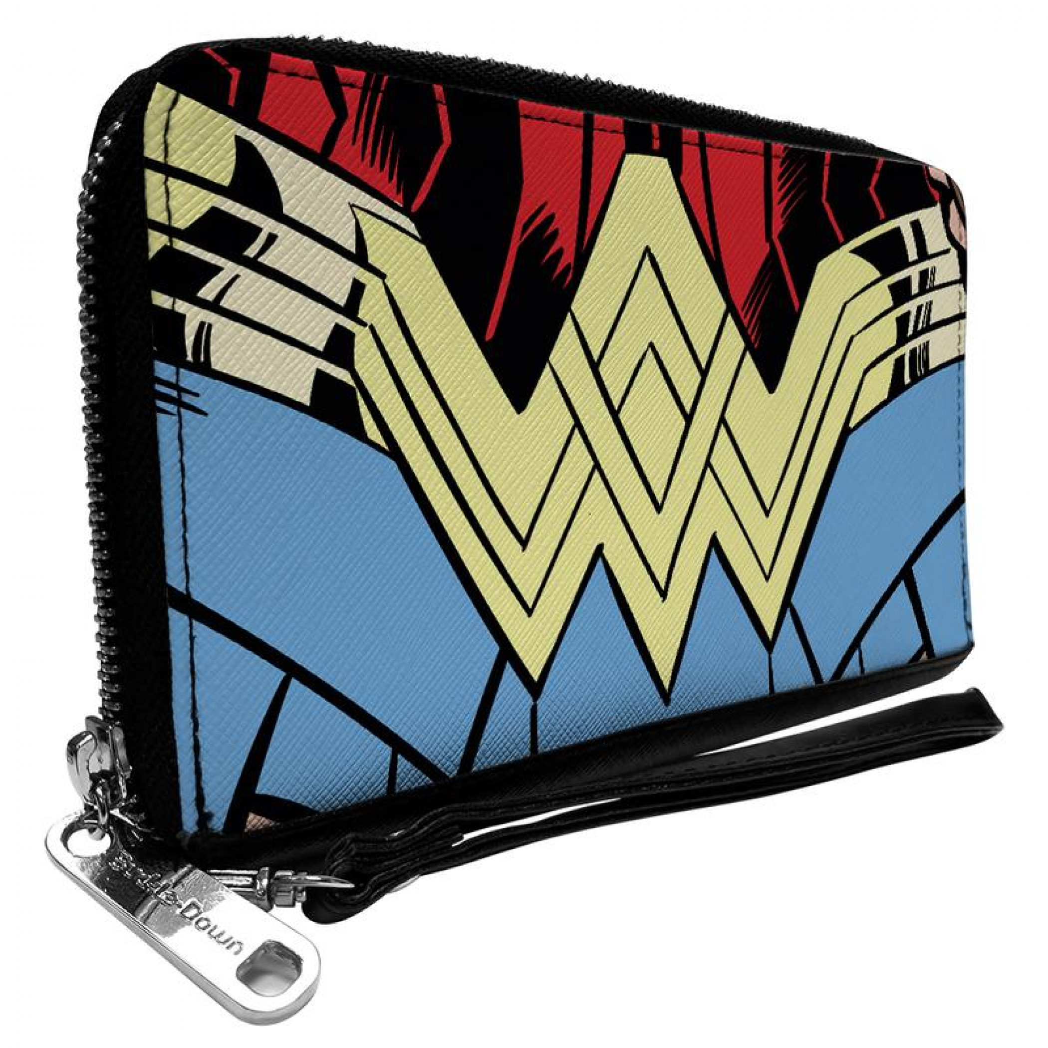Wonder Woman 1984 WW Belt Logo Zip Around Wallet