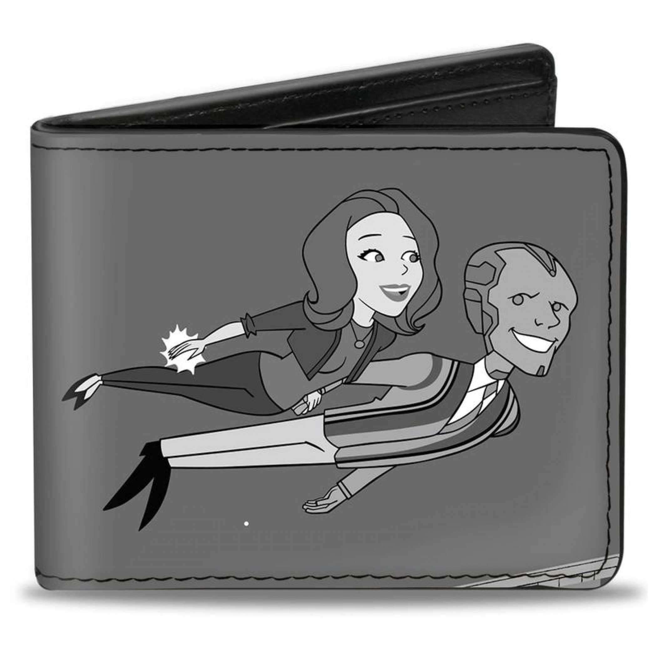 Marvel Studios WandaVision Series Scarlet and Vision Flying Wallet Bi-Fold