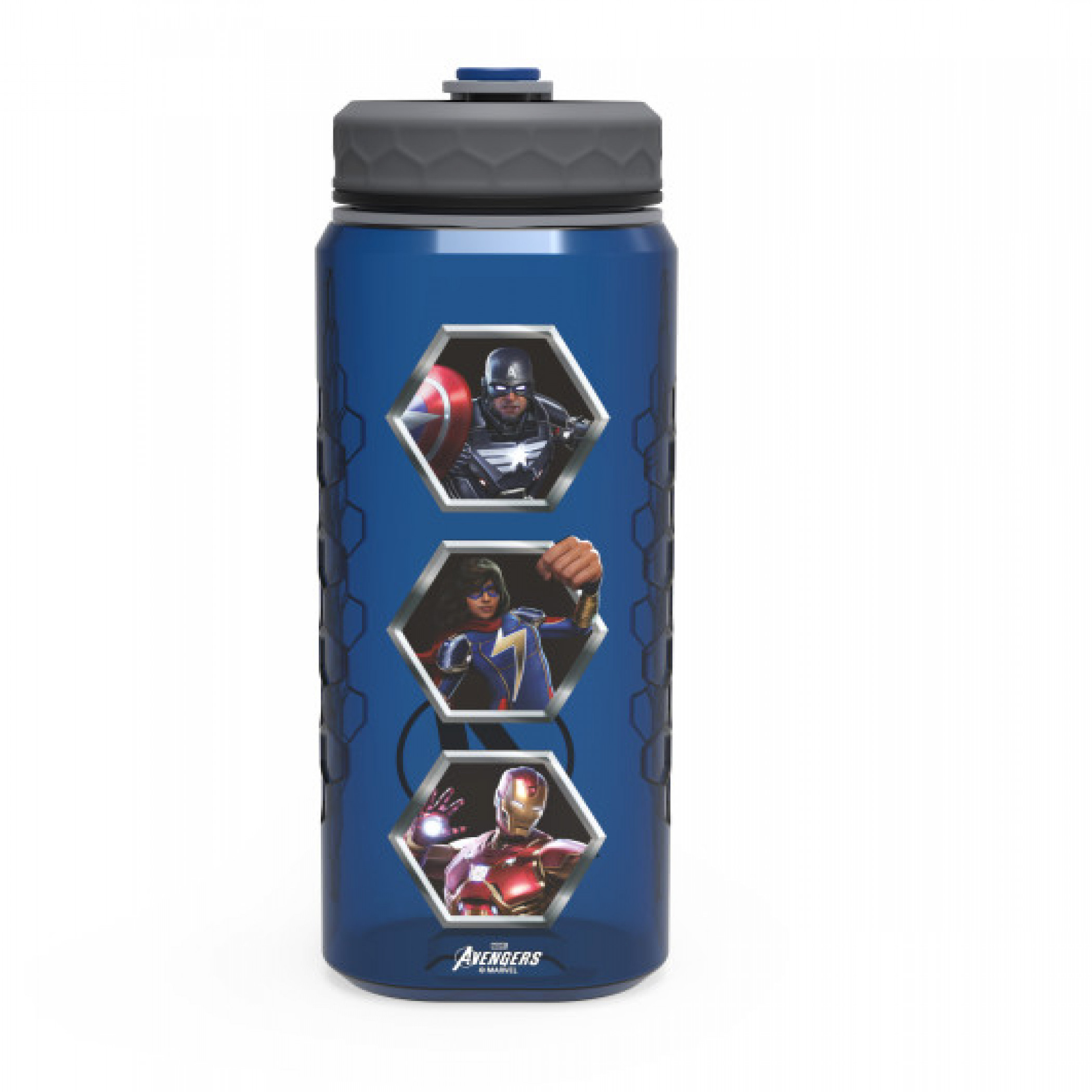 Avengers Marvel Games 36oz Rugged Plastic Water Bottle