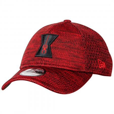 Black Widow Movie Spider Red Poly-Knit 9Twenty Adjustable New Era Hat