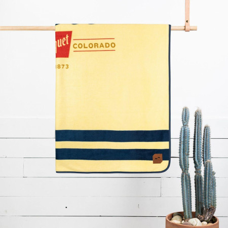 Coors Banquet Golden Colorado Estd 1873 Nylon Blanket